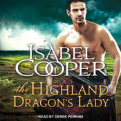 The Highland Dragons Lady Audiobook, by Isabel Cooper