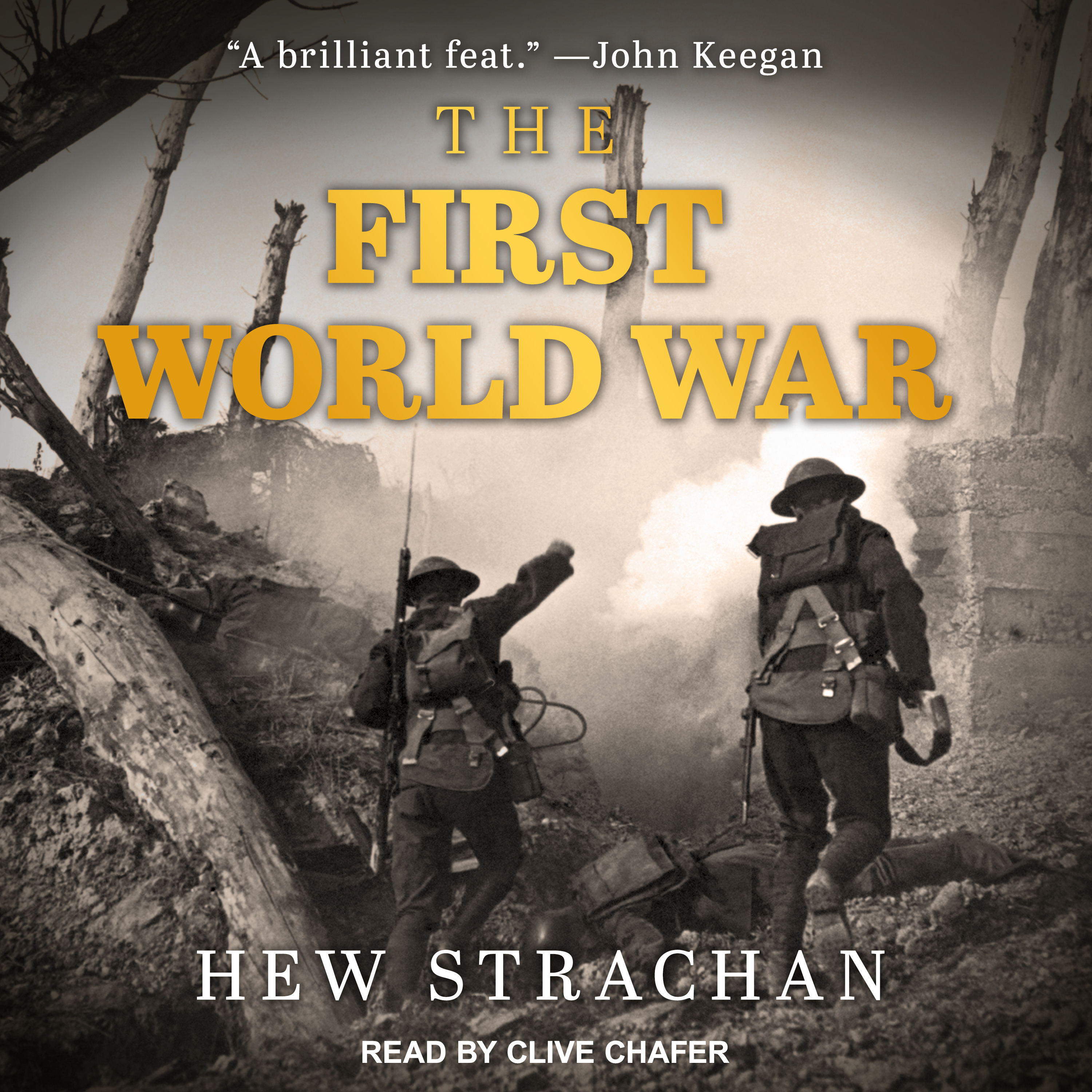Printable The First World War Audiobook Cover Art
