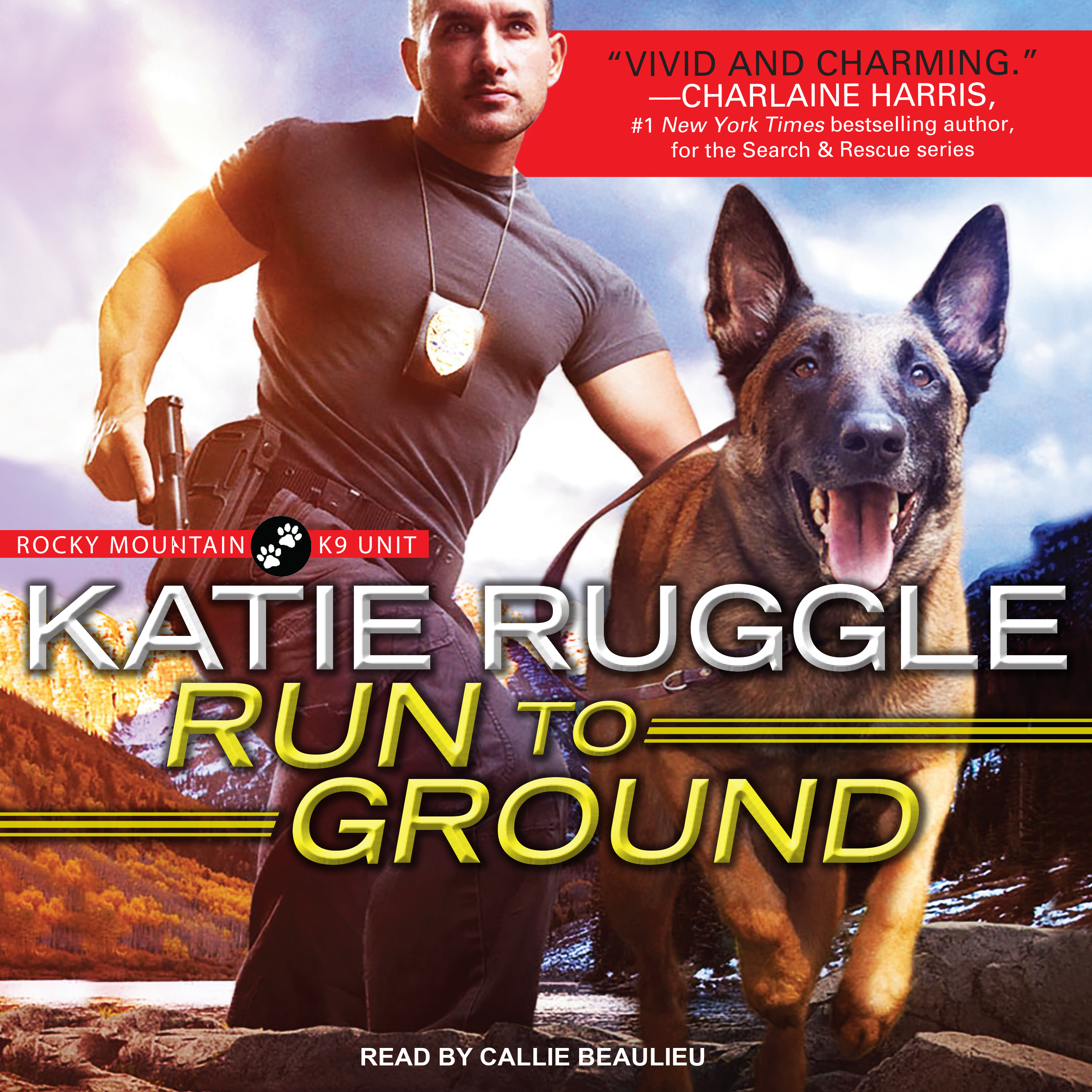 Printable Run to Ground Audiobook Cover Art