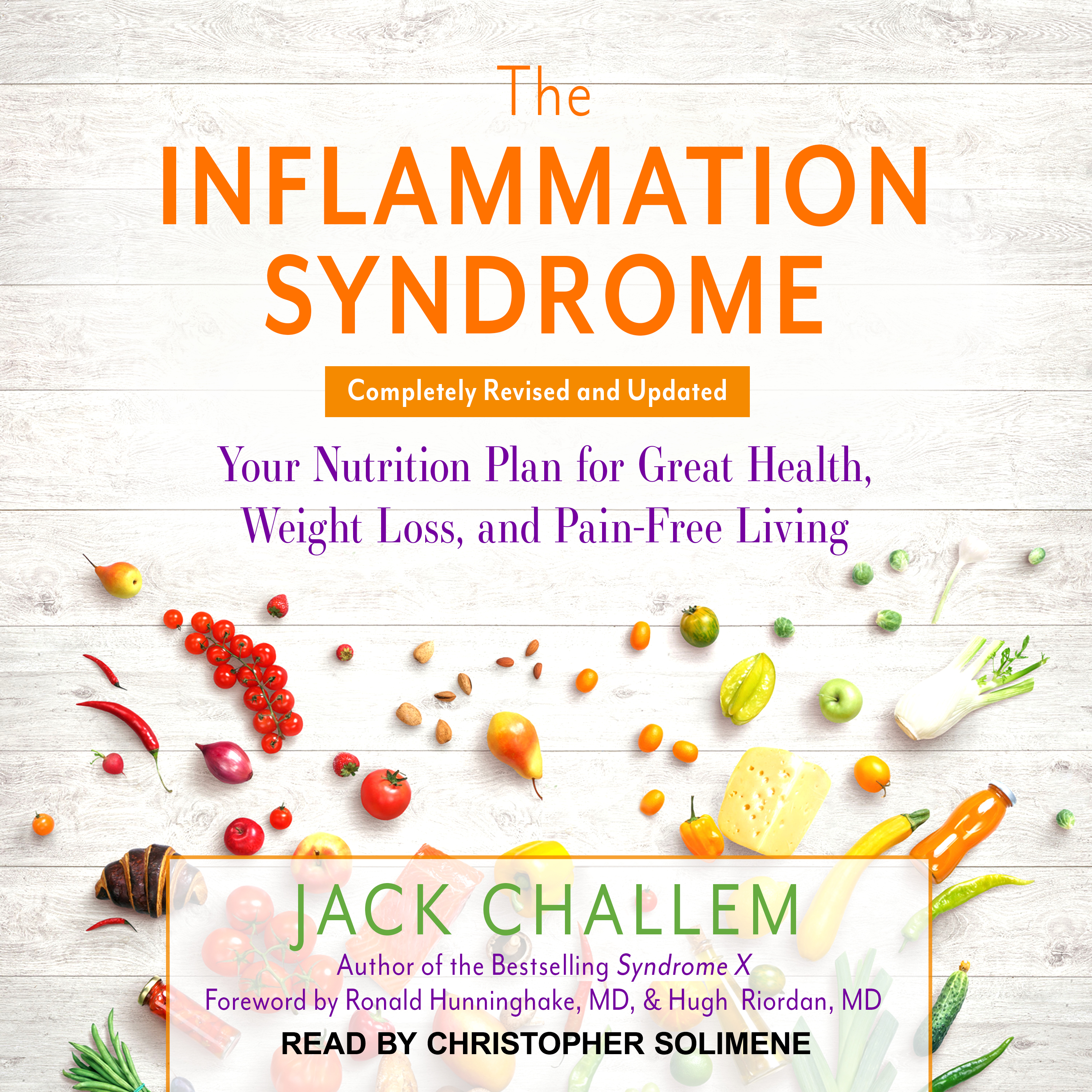 Printable The Inflammation Syndrome: Your Nutrition Plan for Great Health, Weight Loss, and Pain-Free Living Audiobook Cover Art
