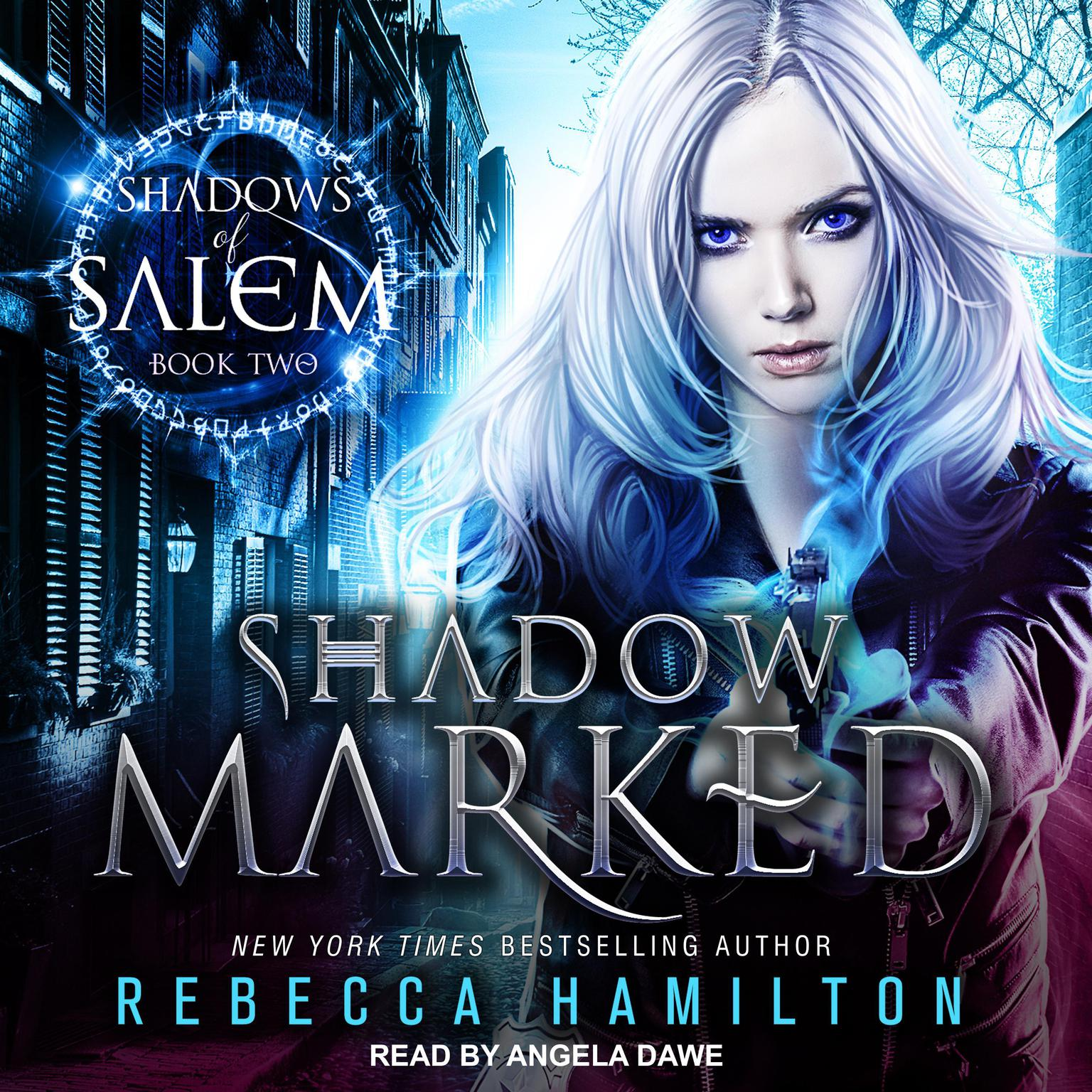 Printable Shadow Marked Audiobook Cover Art
