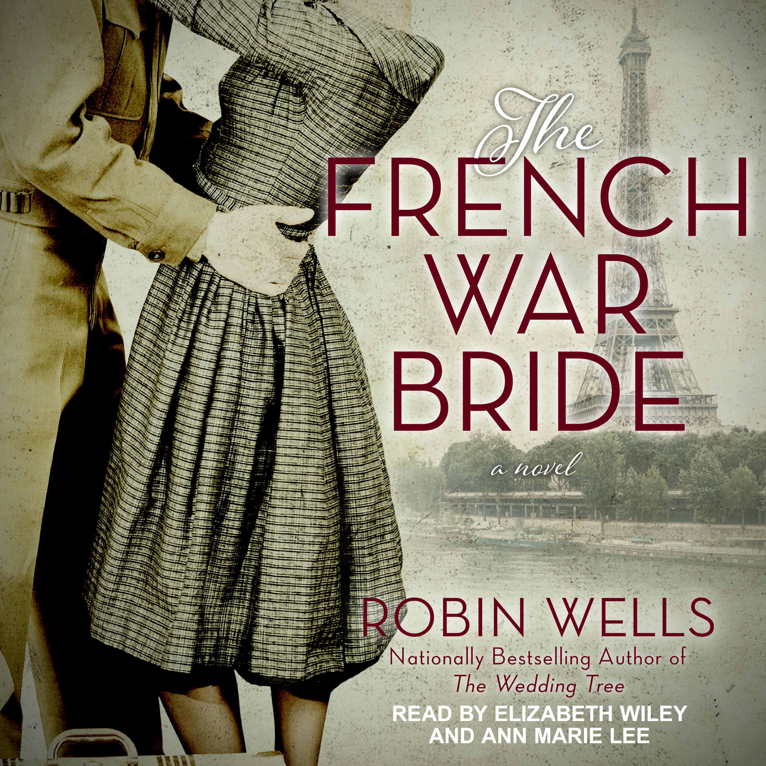Printable The French War Bride Audiobook Cover Art