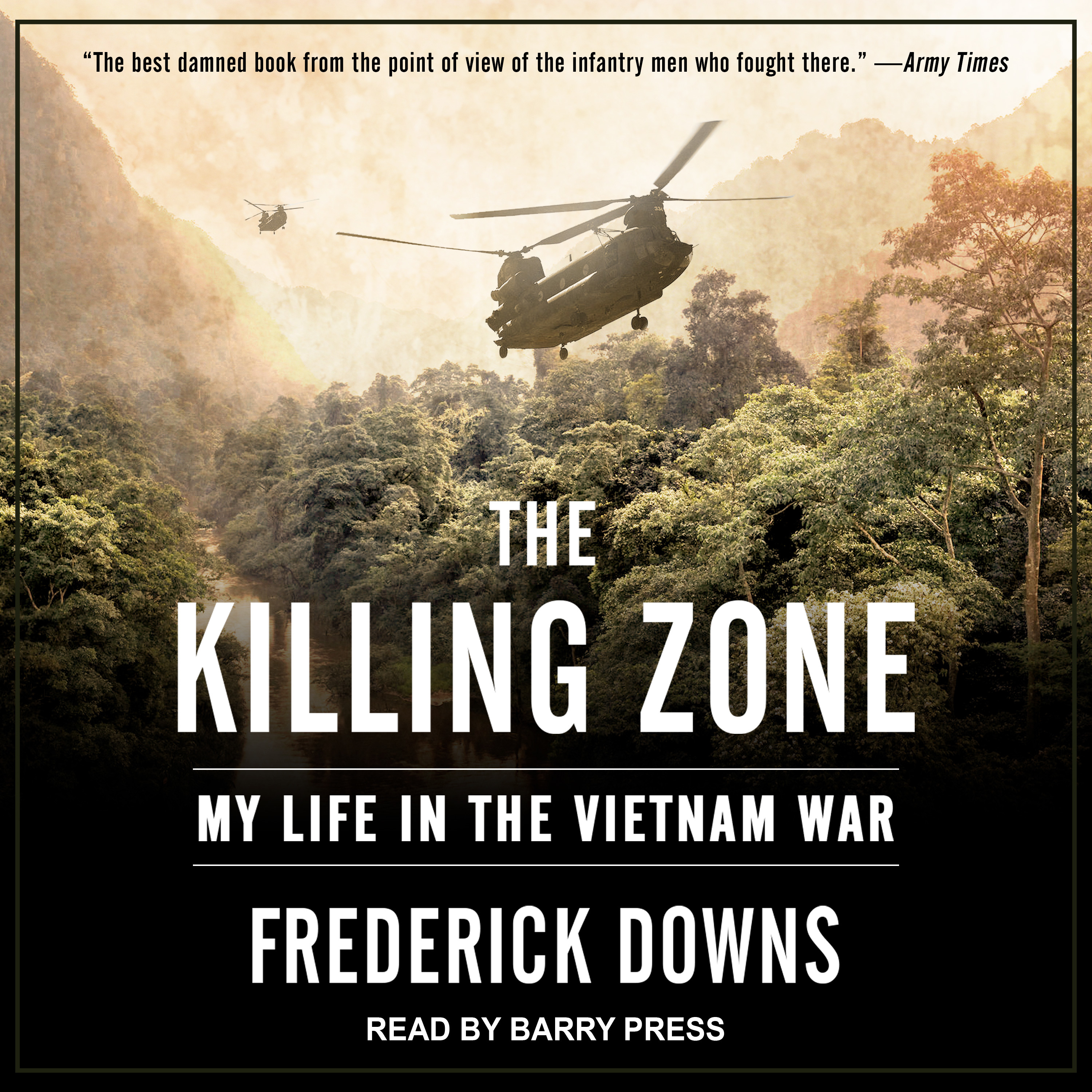 Printable The Killing Zone: My Life in the Vietnam War Audiobook Cover Art