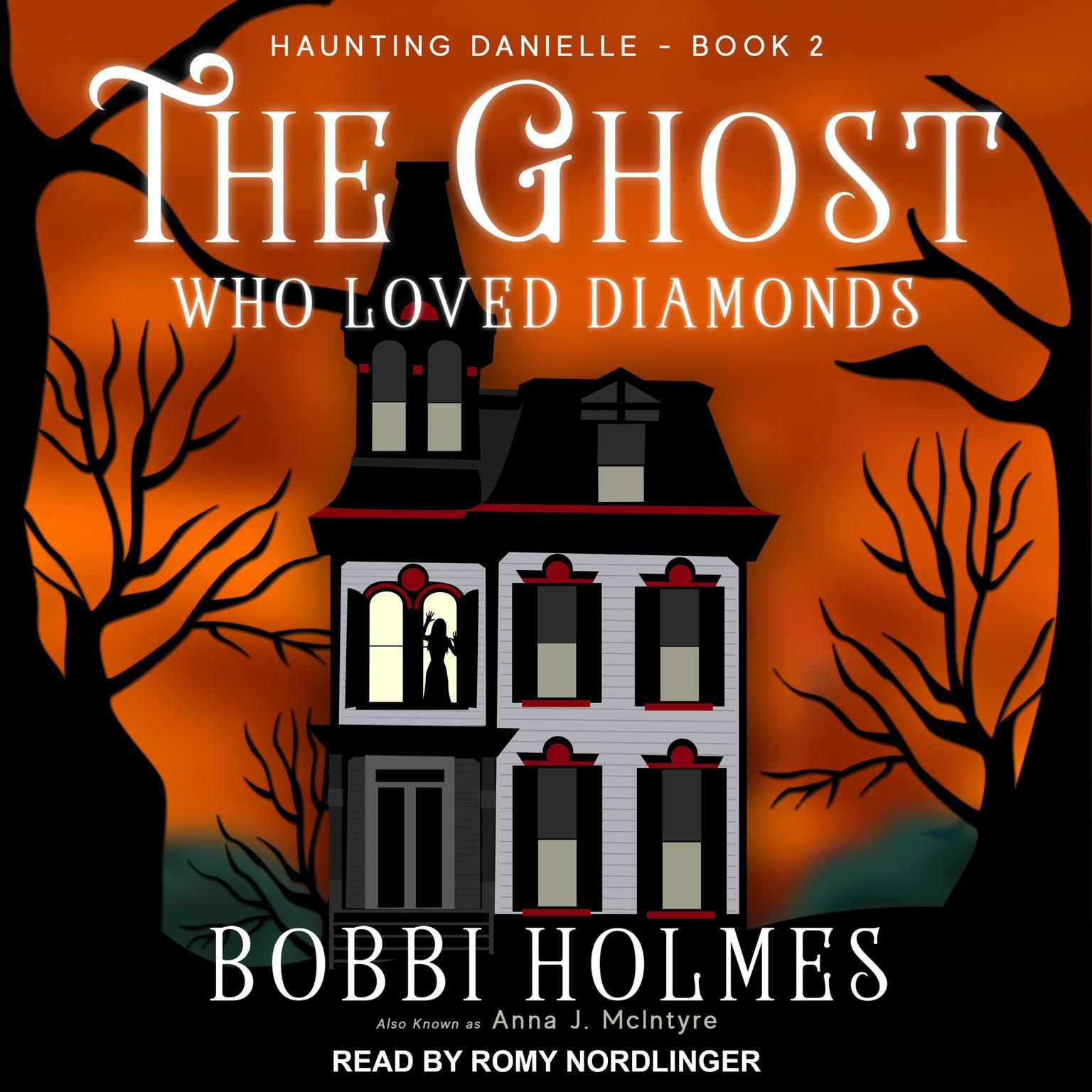 Printable The Ghost Who Loved Diamonds Audiobook Cover Art