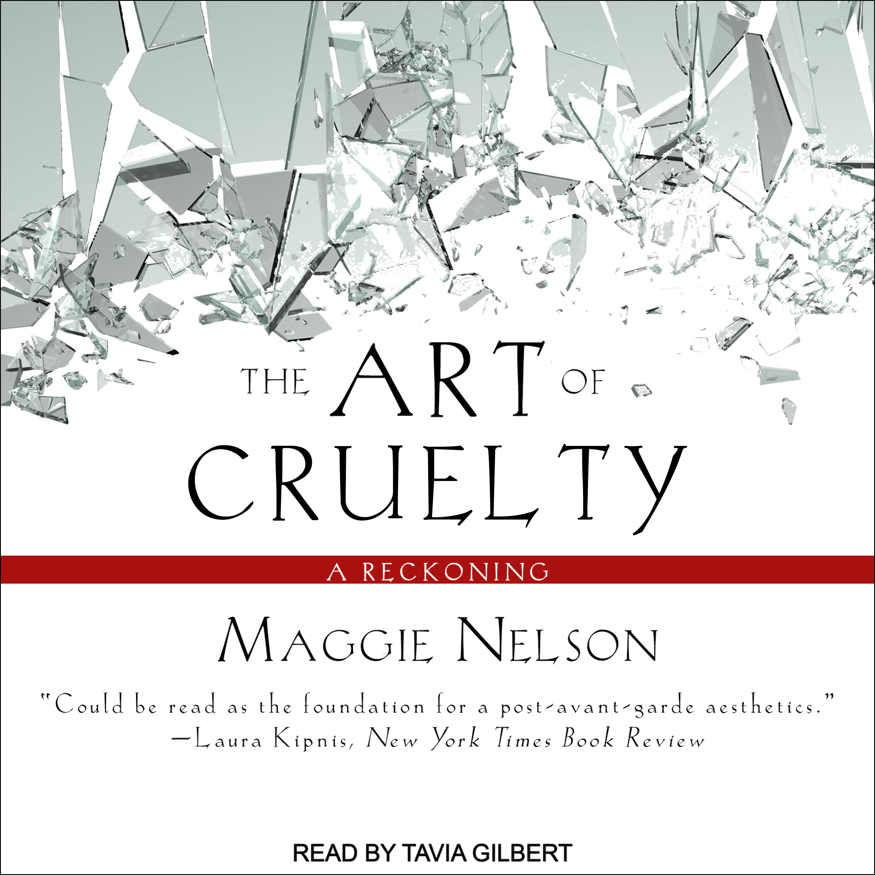 Printable The Art of Cruelty: A Reckoning Audiobook Cover Art