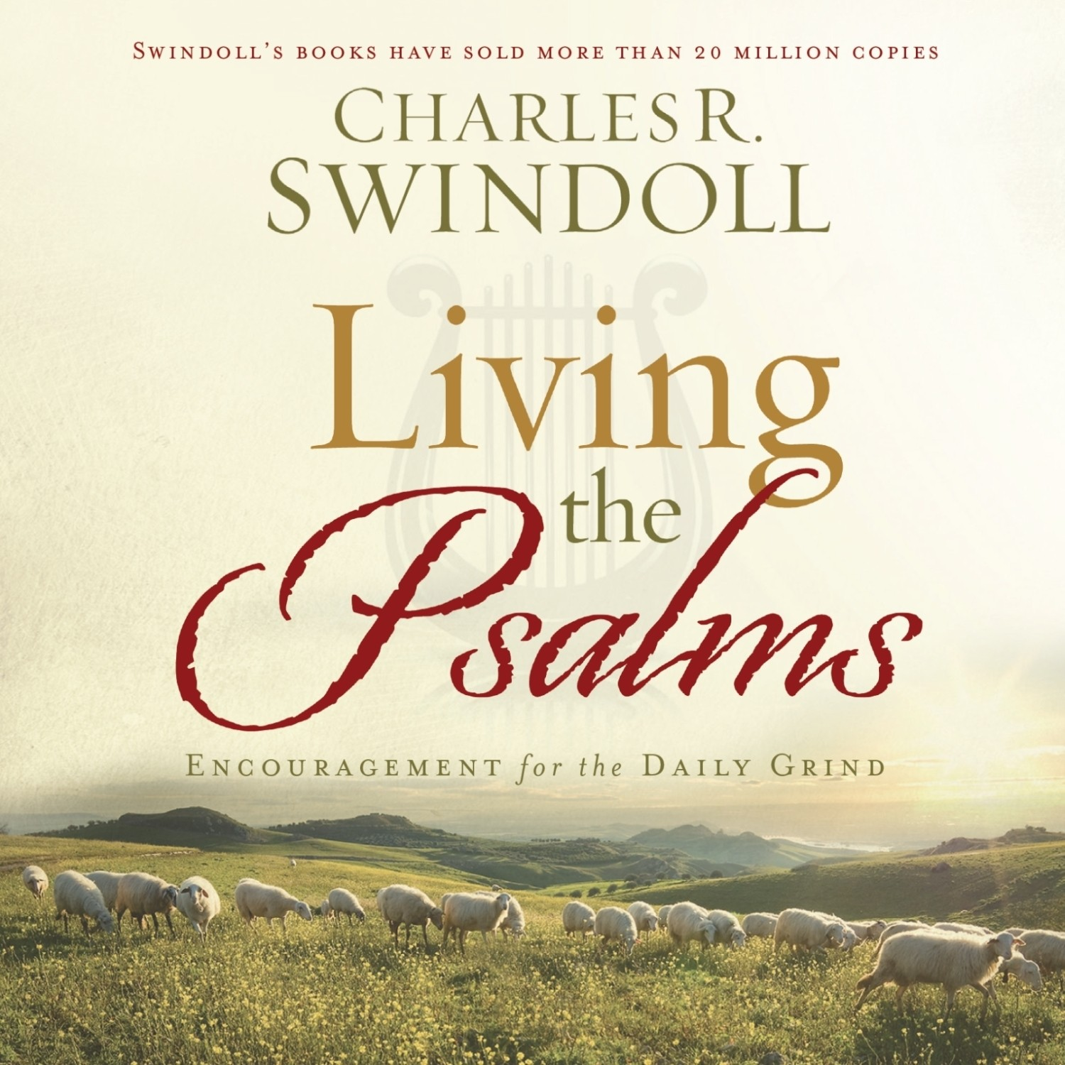 Printable Living the Psalms: Encouragement for the Daily Grind Audiobook Cover Art