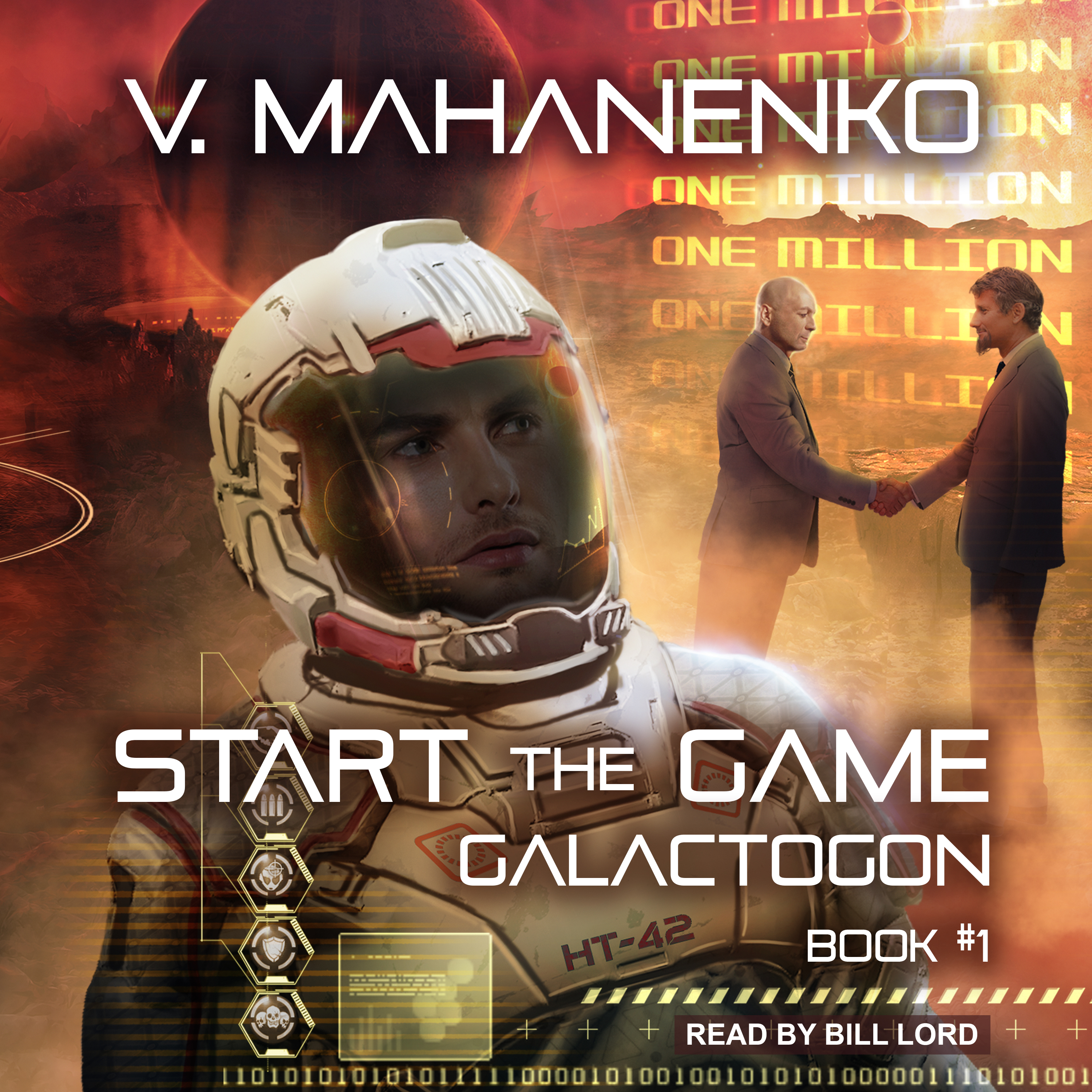 Printable Start the Game Audiobook Cover Art