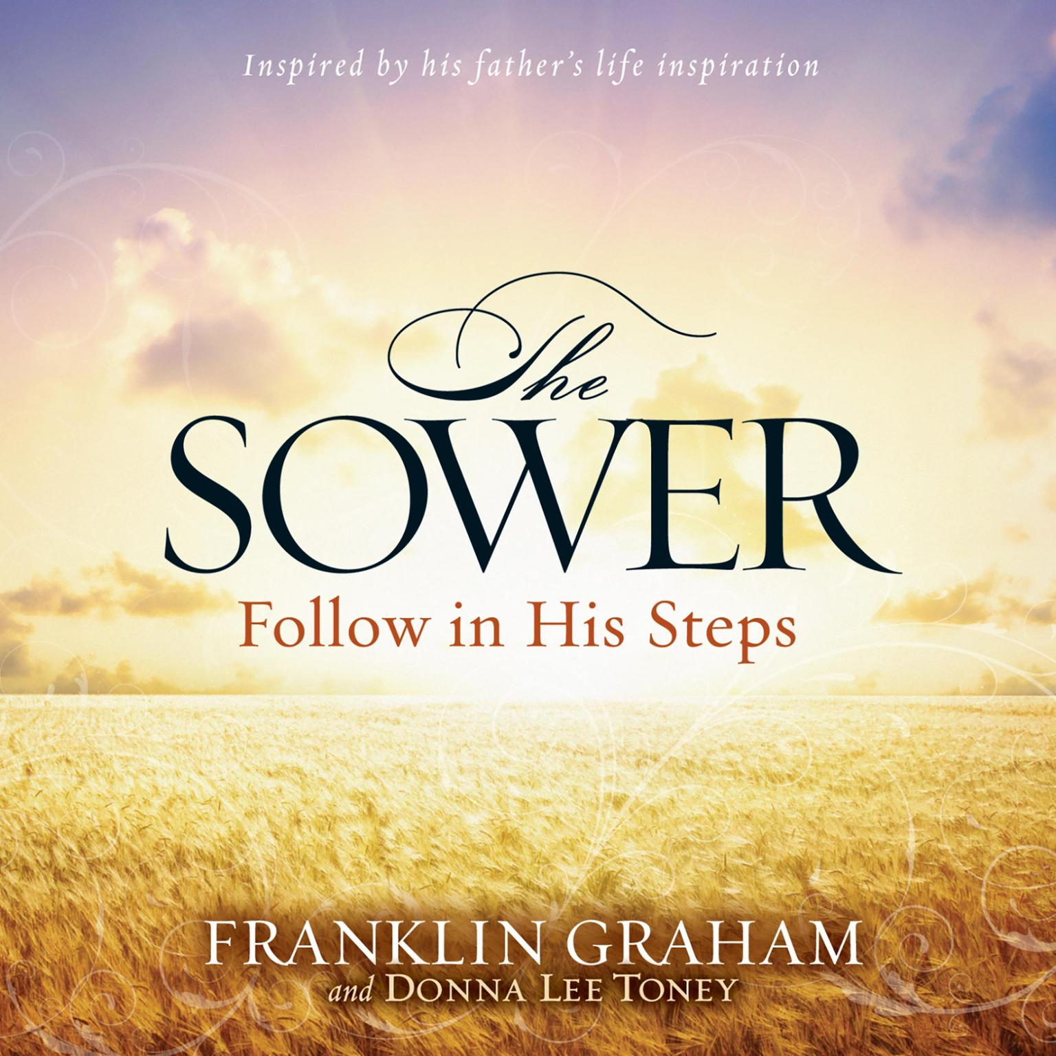 Printable The Sower: Follow in His Steps Audiobook Cover Art