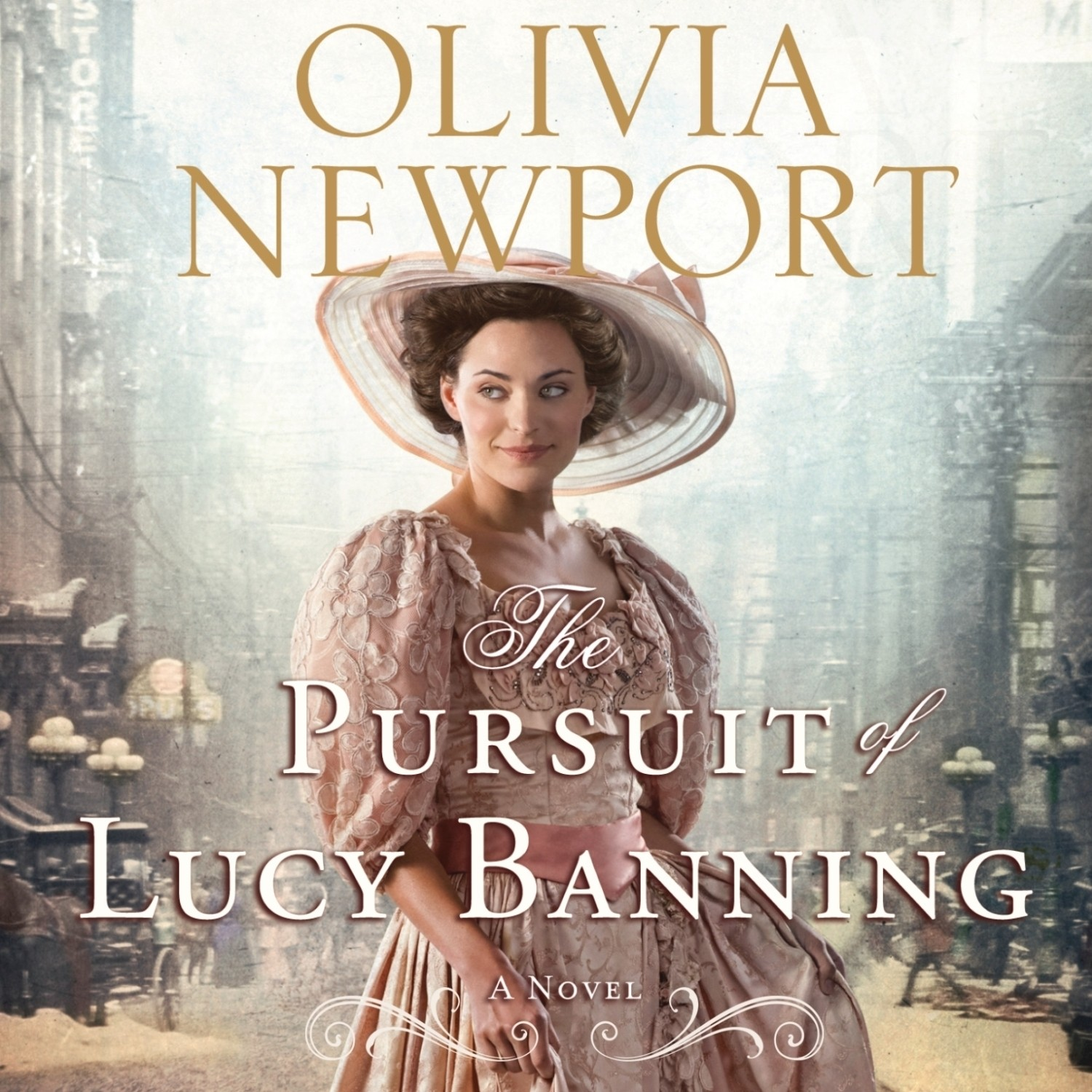 Printable The Pursuit of Lucy Banning: A Novel Audiobook Cover Art