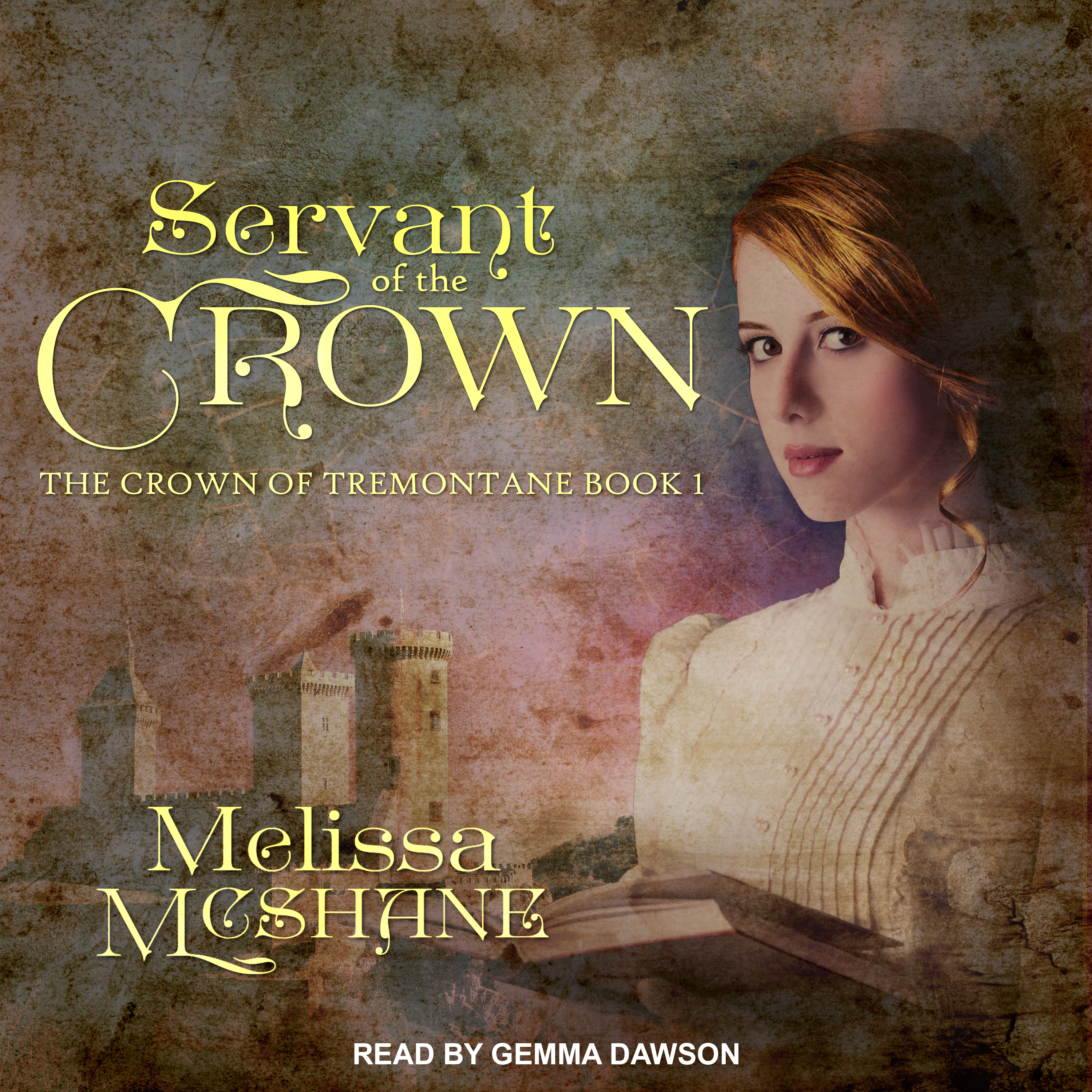 Printable Servant of the Crown Audiobook Cover Art