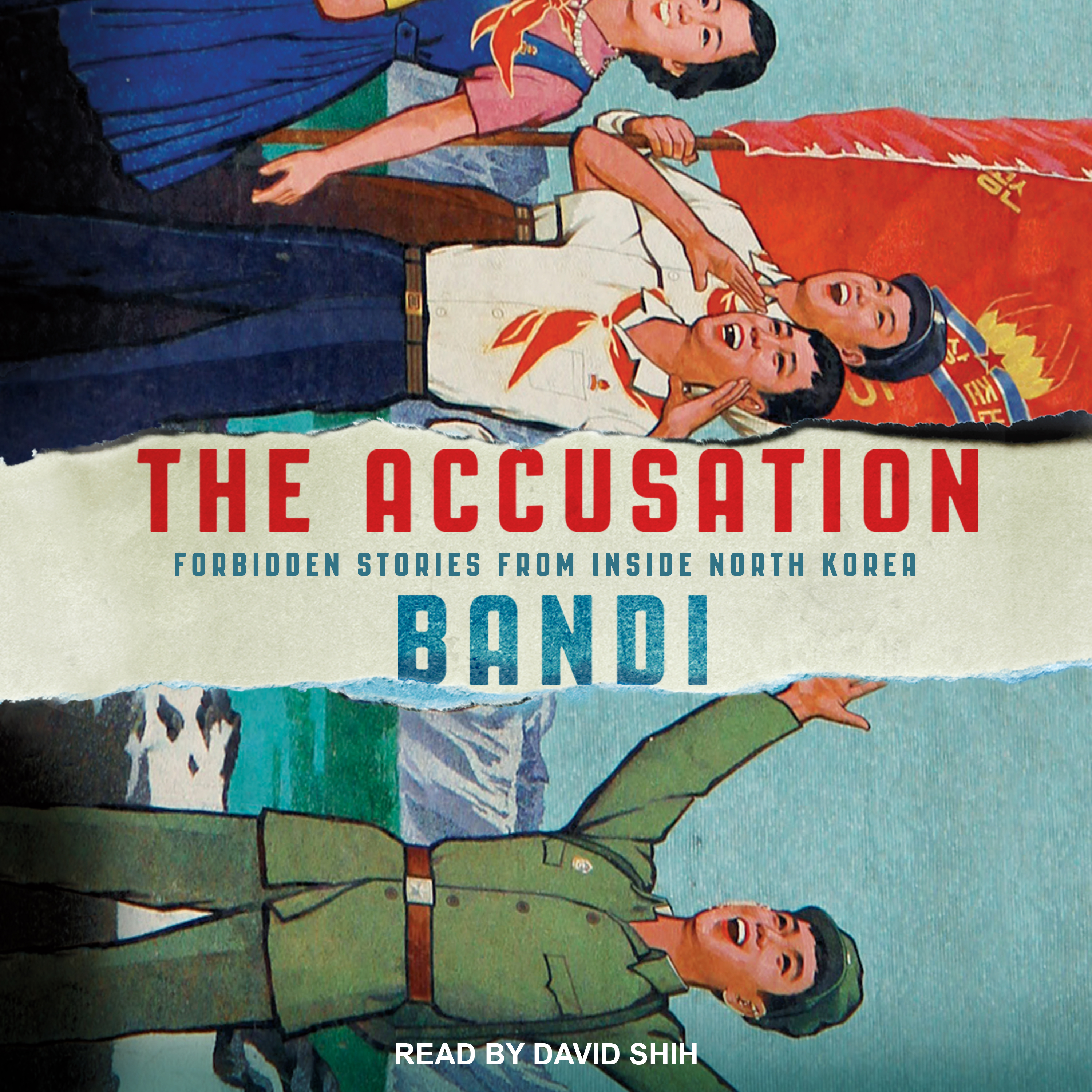 Printable The Accusation: Forbidden Stories from Inside North Korea Audiobook Cover Art