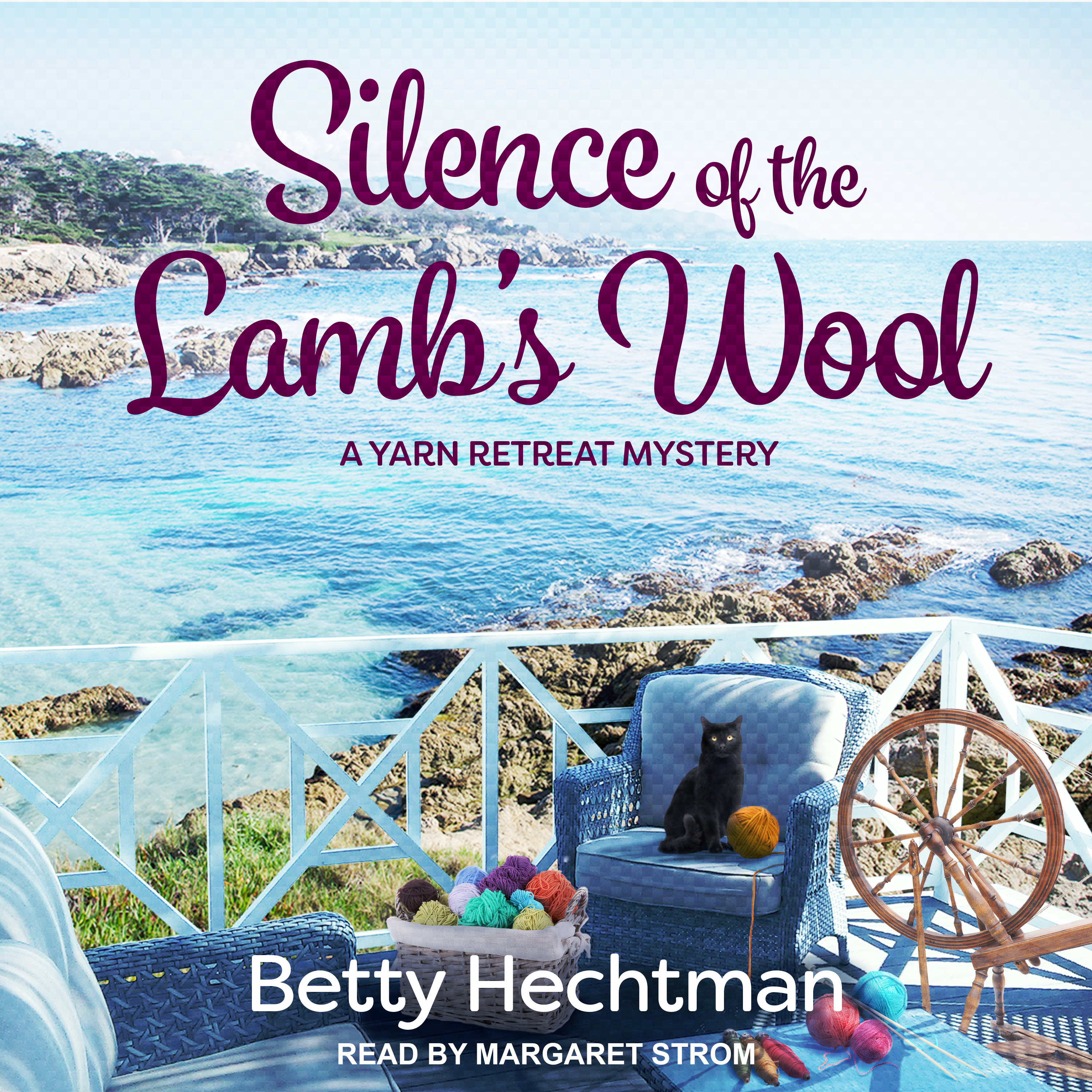 Printable Silence of the Lamb's Wool Audiobook Cover Art