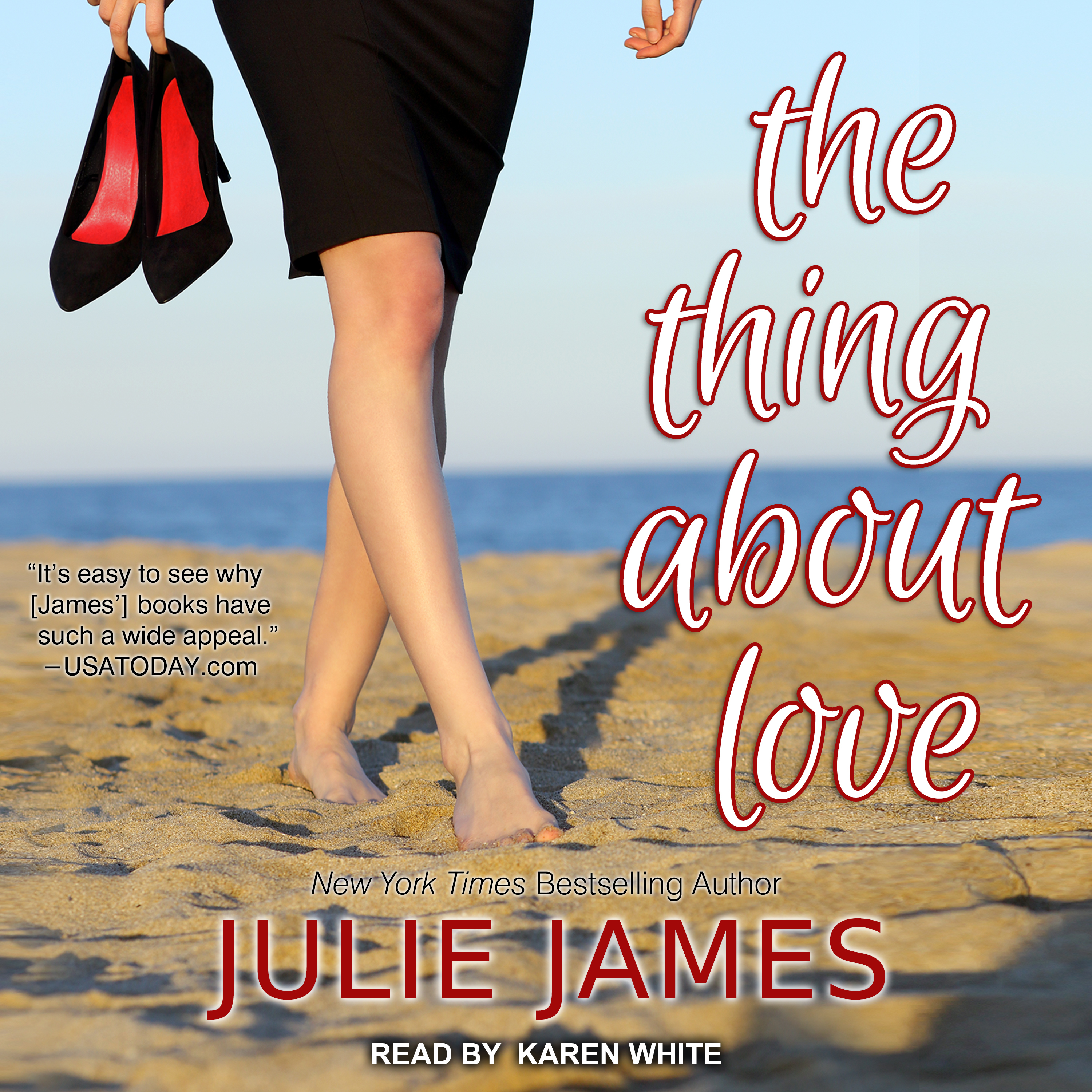 Printable The Thing About Love Audiobook Cover Art