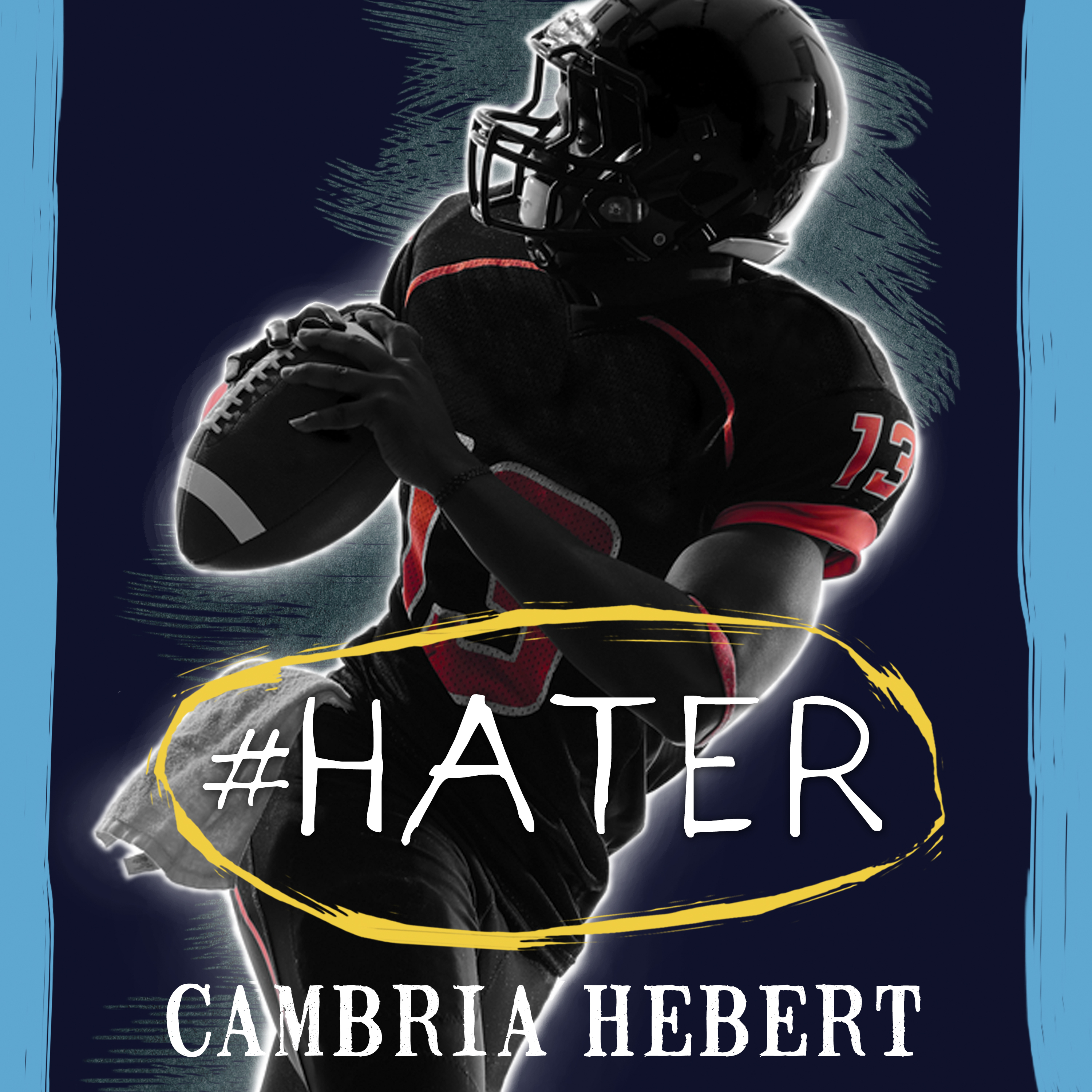 Printable #Hater Audiobook Cover Art