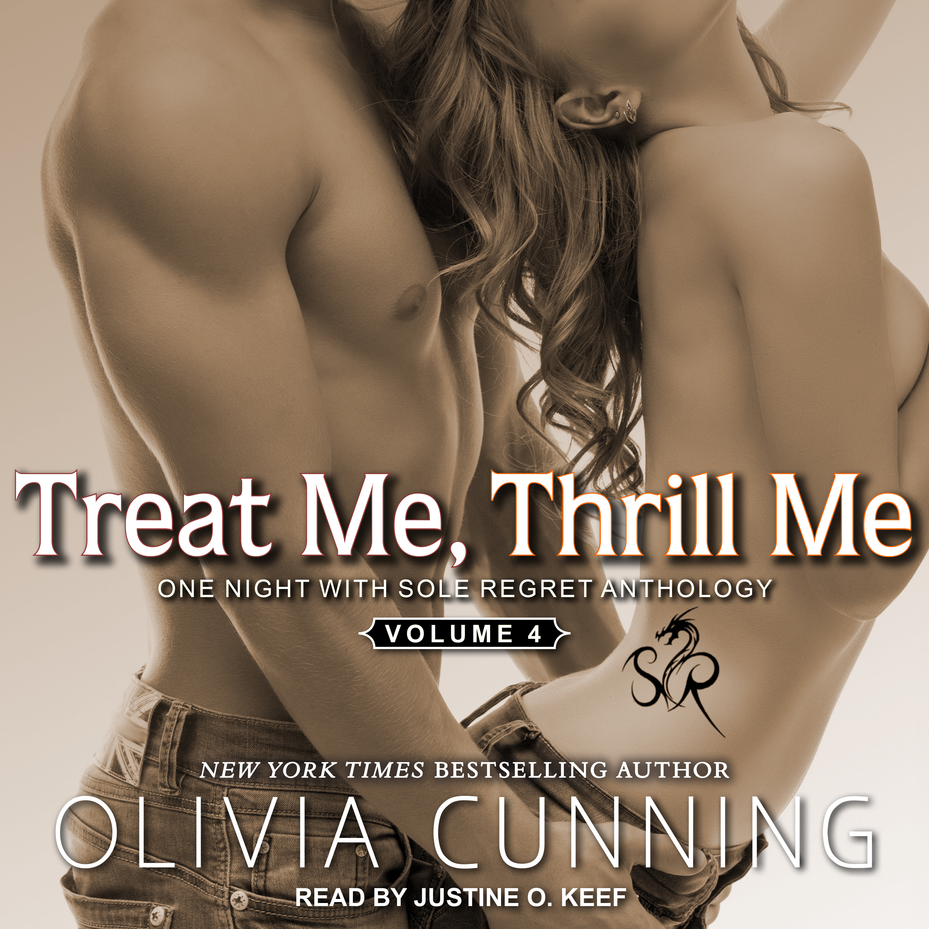 Printable Treat Me, Thrill Me: One Night with Sole Regret Anthology Audiobook Cover Art