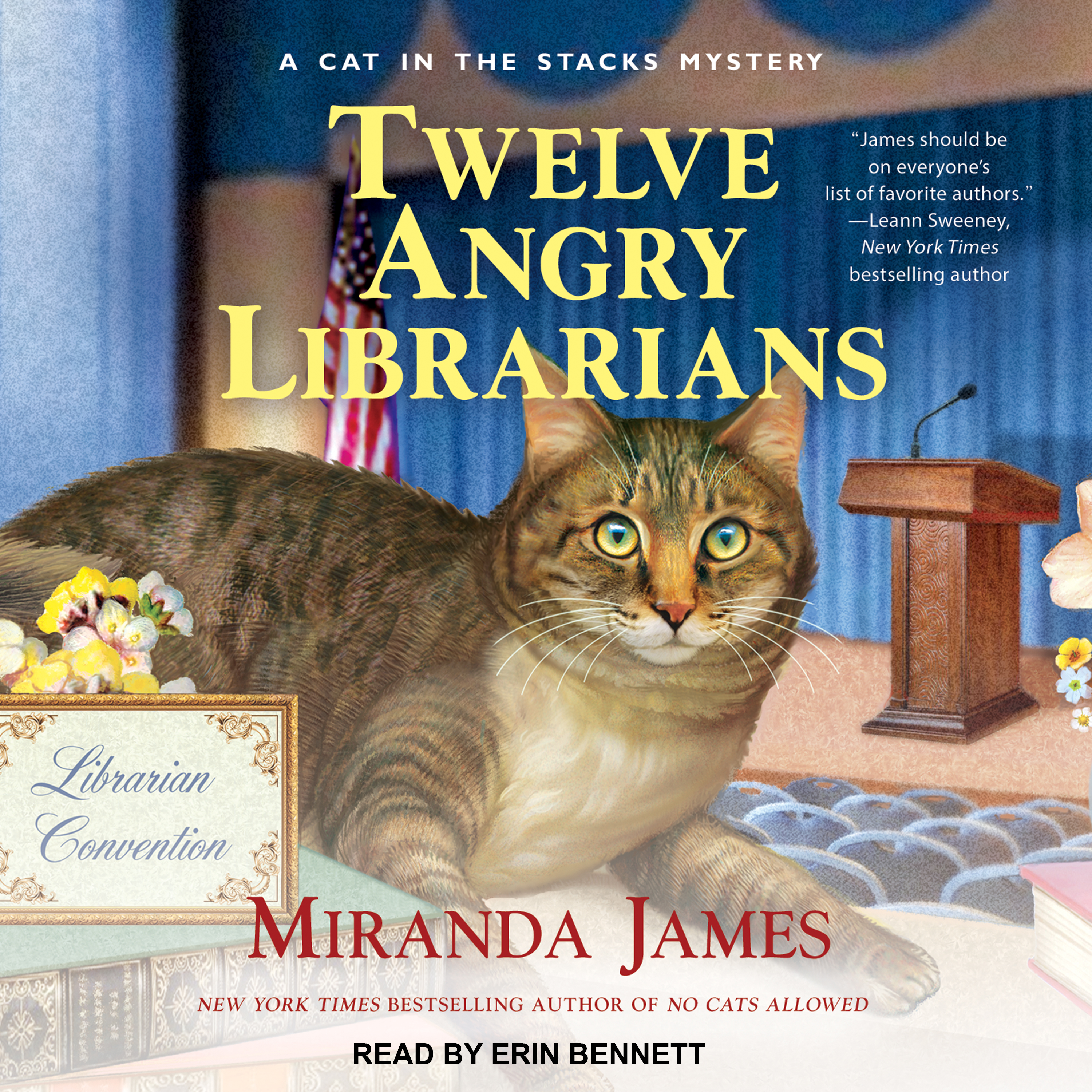 Printable Twelve Angry Librarians Audiobook Cover Art