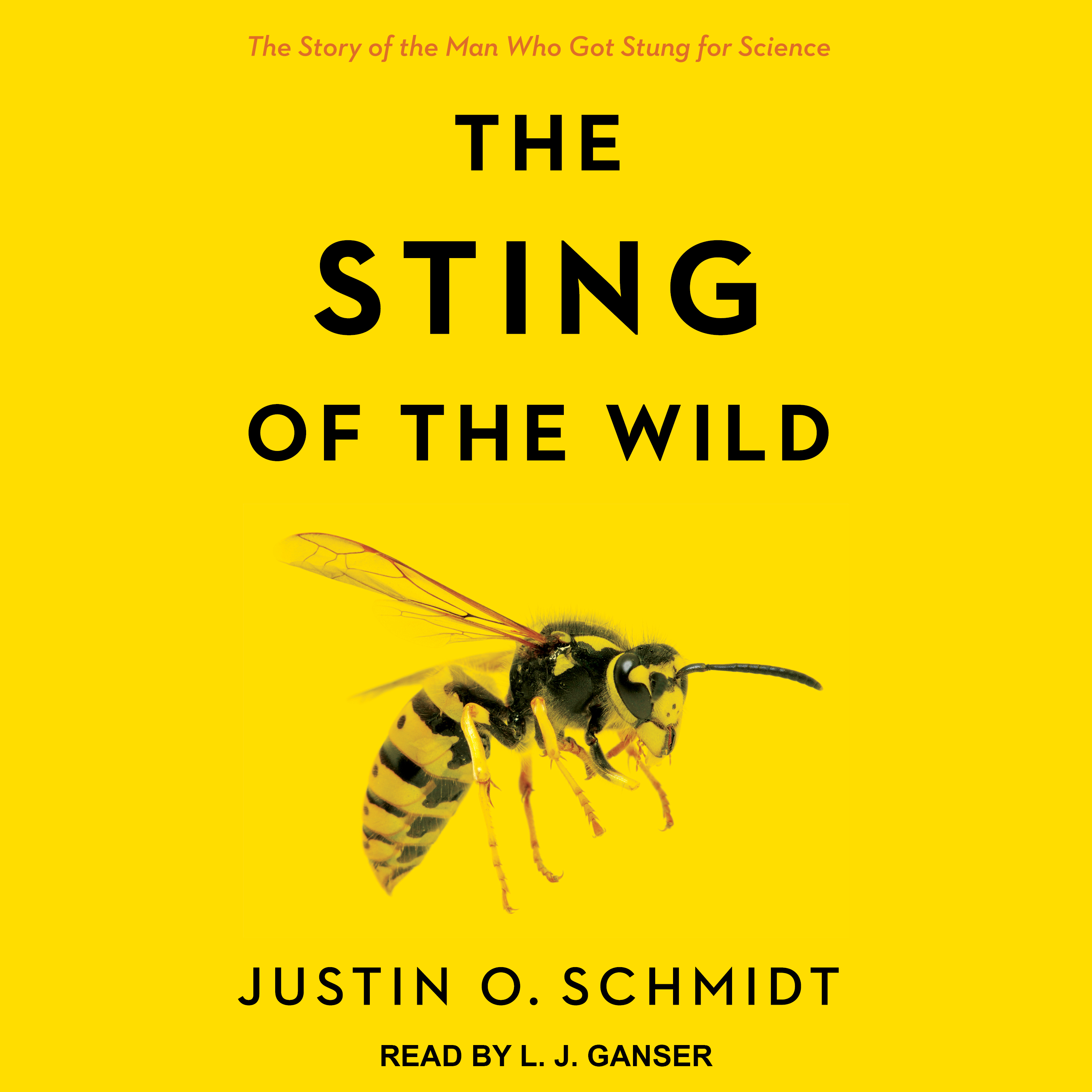 Printable The Sting of the Wild Audiobook Cover Art
