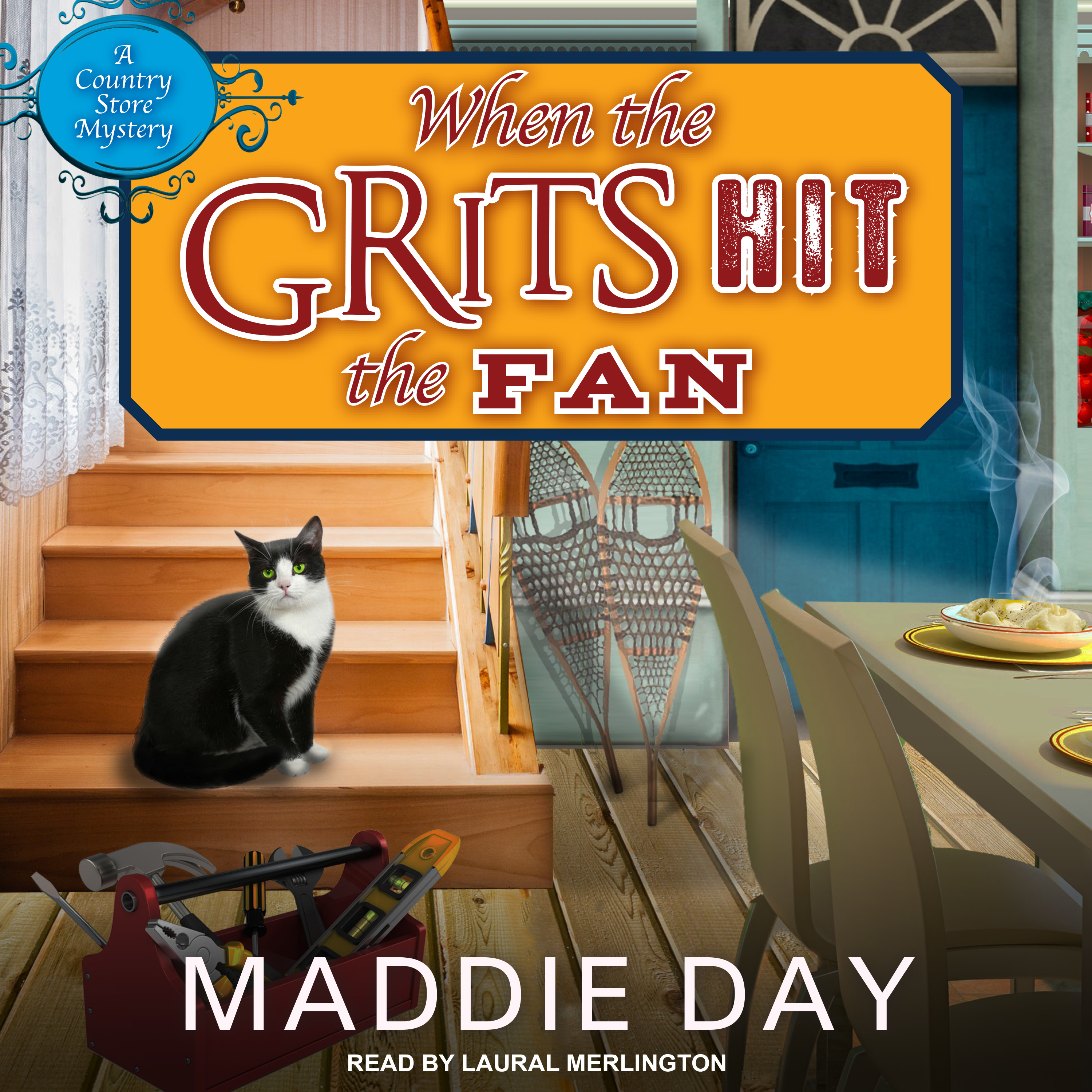 Printable When the Grits Hit the Fan Audiobook Cover Art