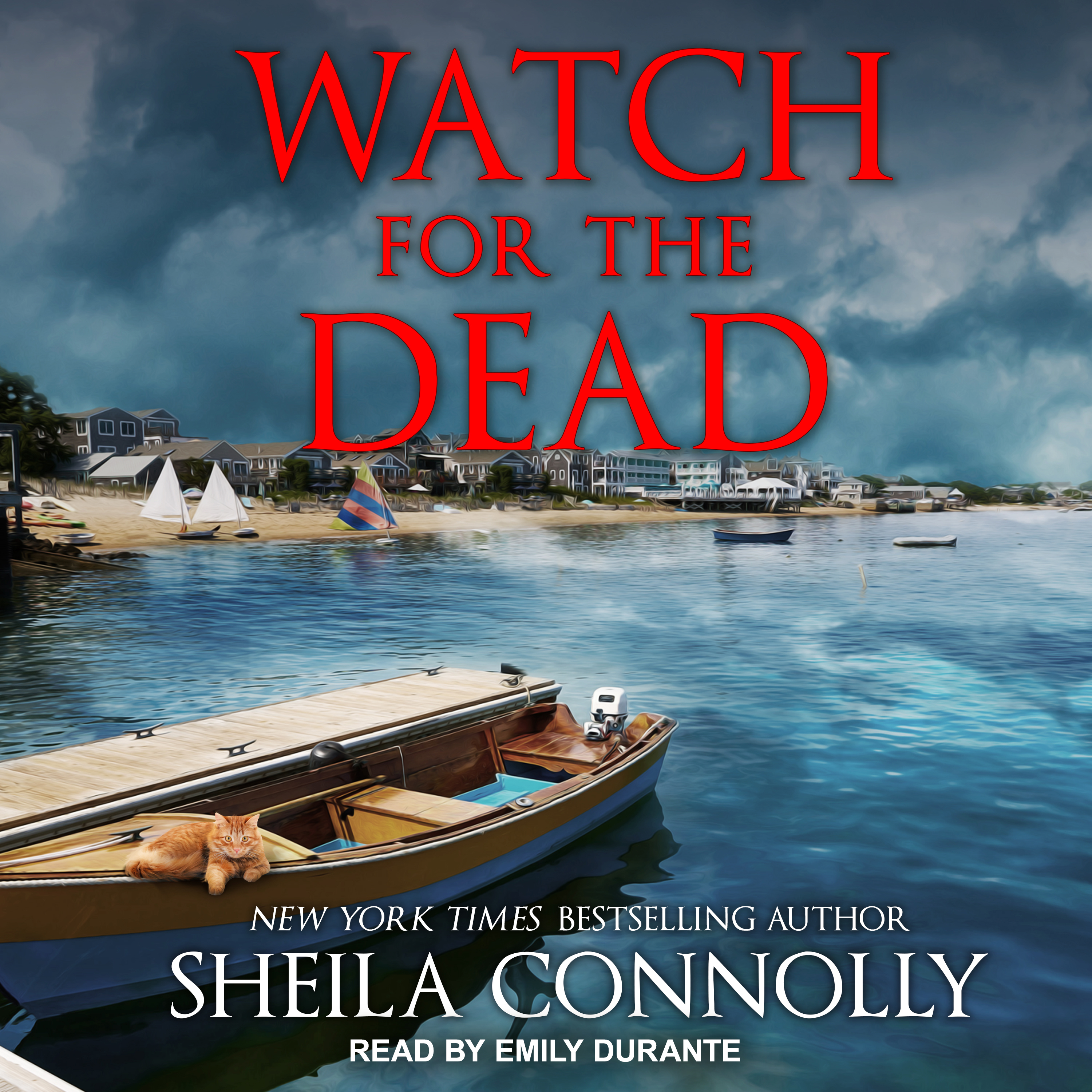 Printable Watch for the Dead Audiobook Cover Art