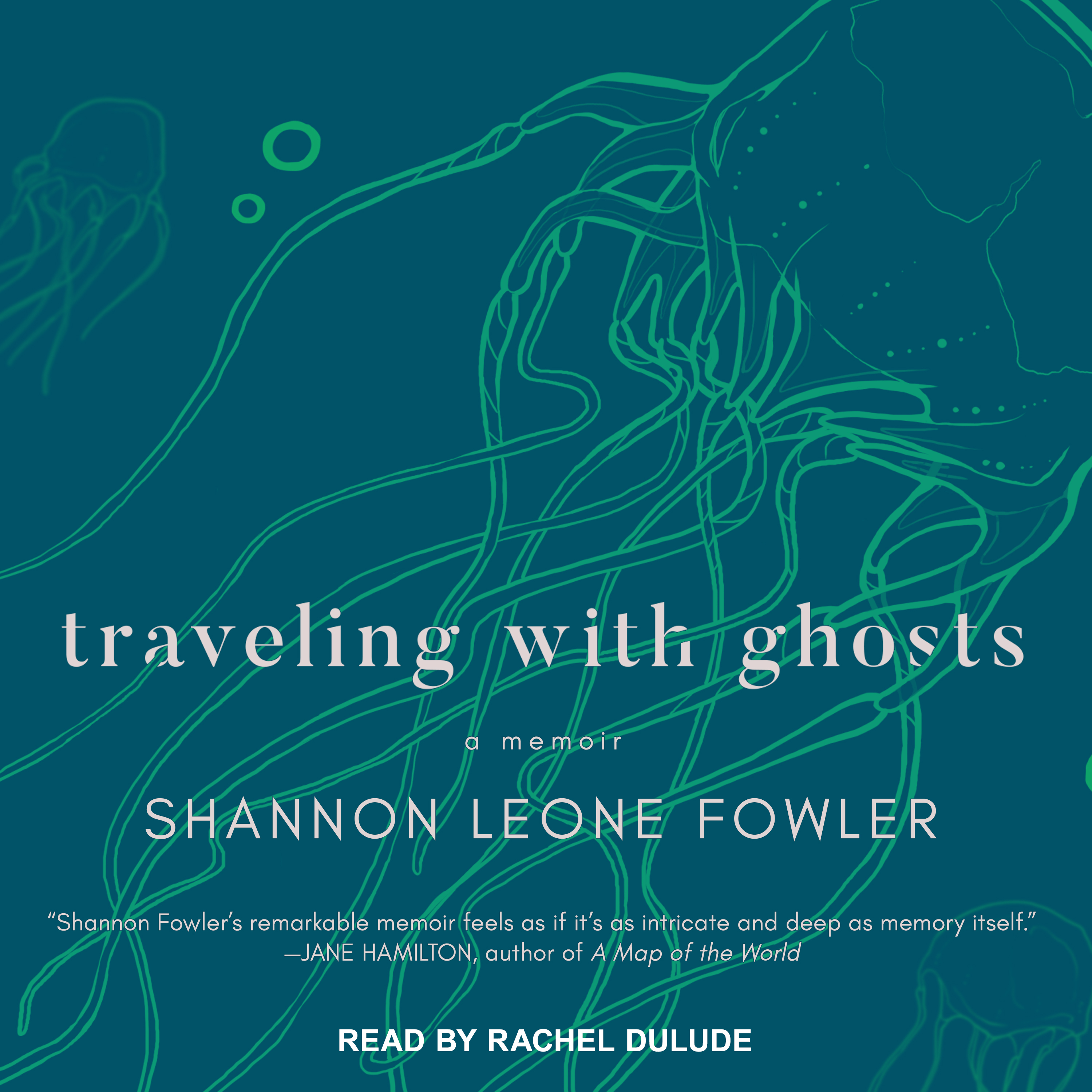 Printable Traveling with Ghosts: A Memoir Audiobook Cover Art