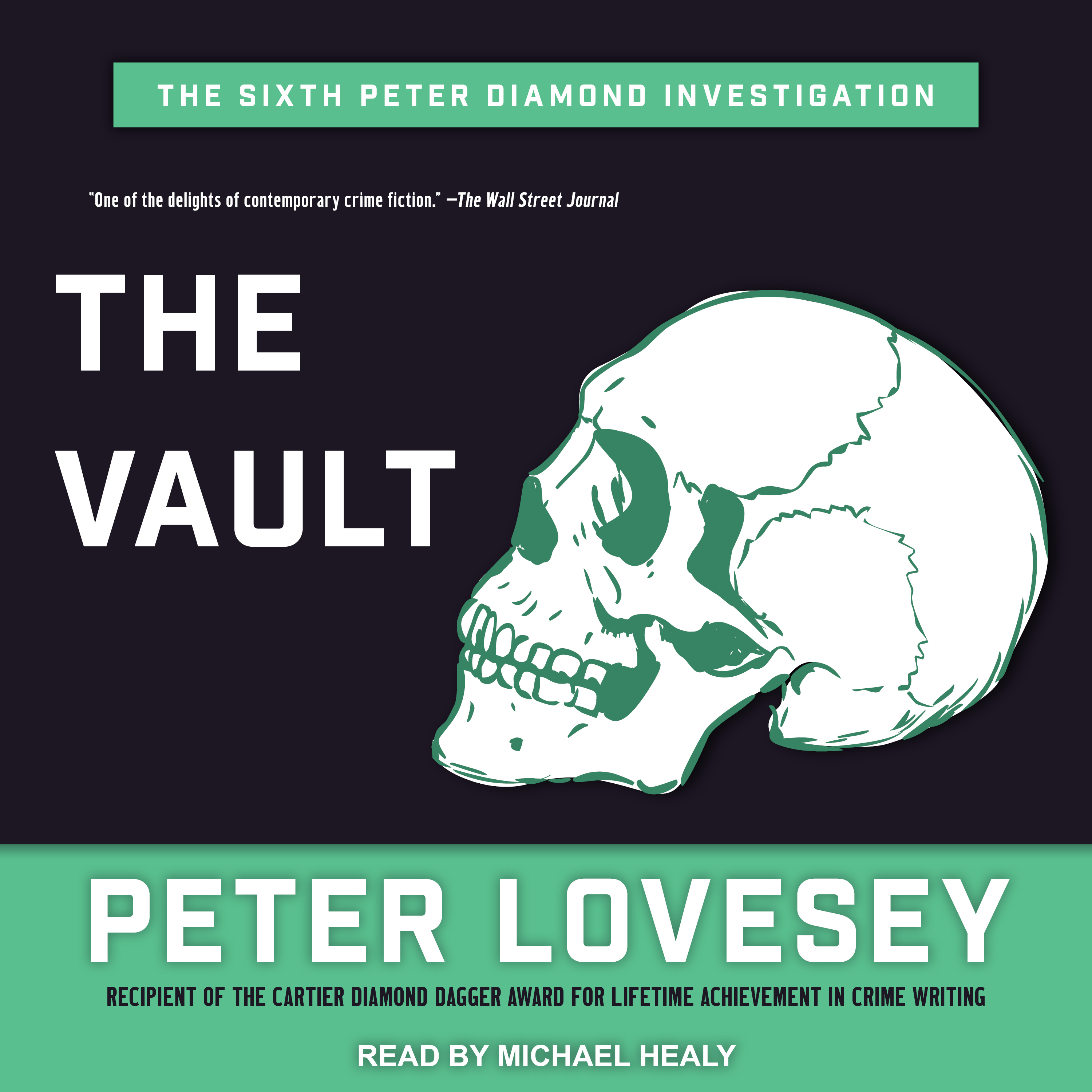 Printable The Vault Audiobook Cover Art