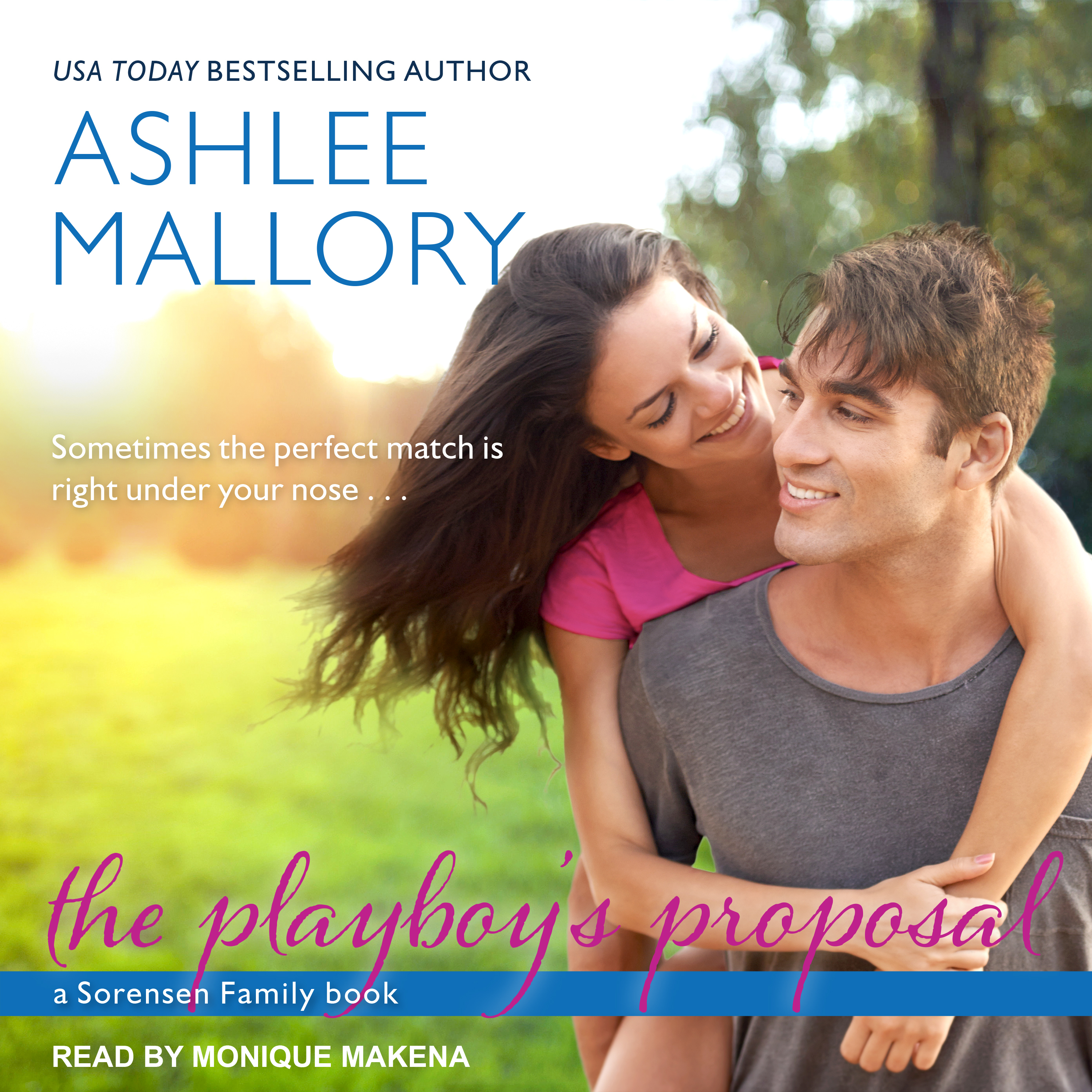 Printable The Playboy's Proposal Audiobook Cover Art