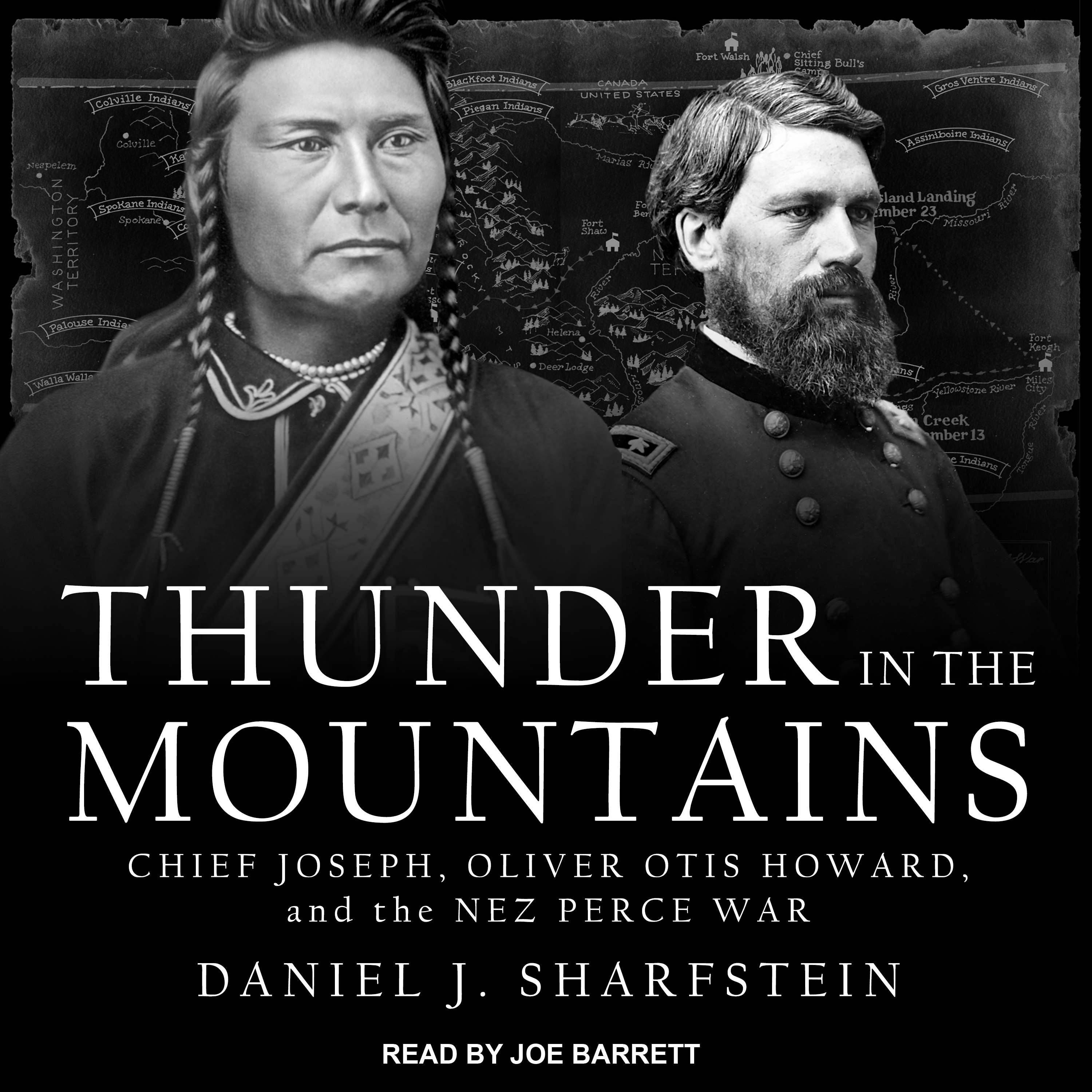 Printable Thunder in the Mountains: Chief Joseph, Oliver Otis Howard, and the Nez Perce War Audiobook Cover Art