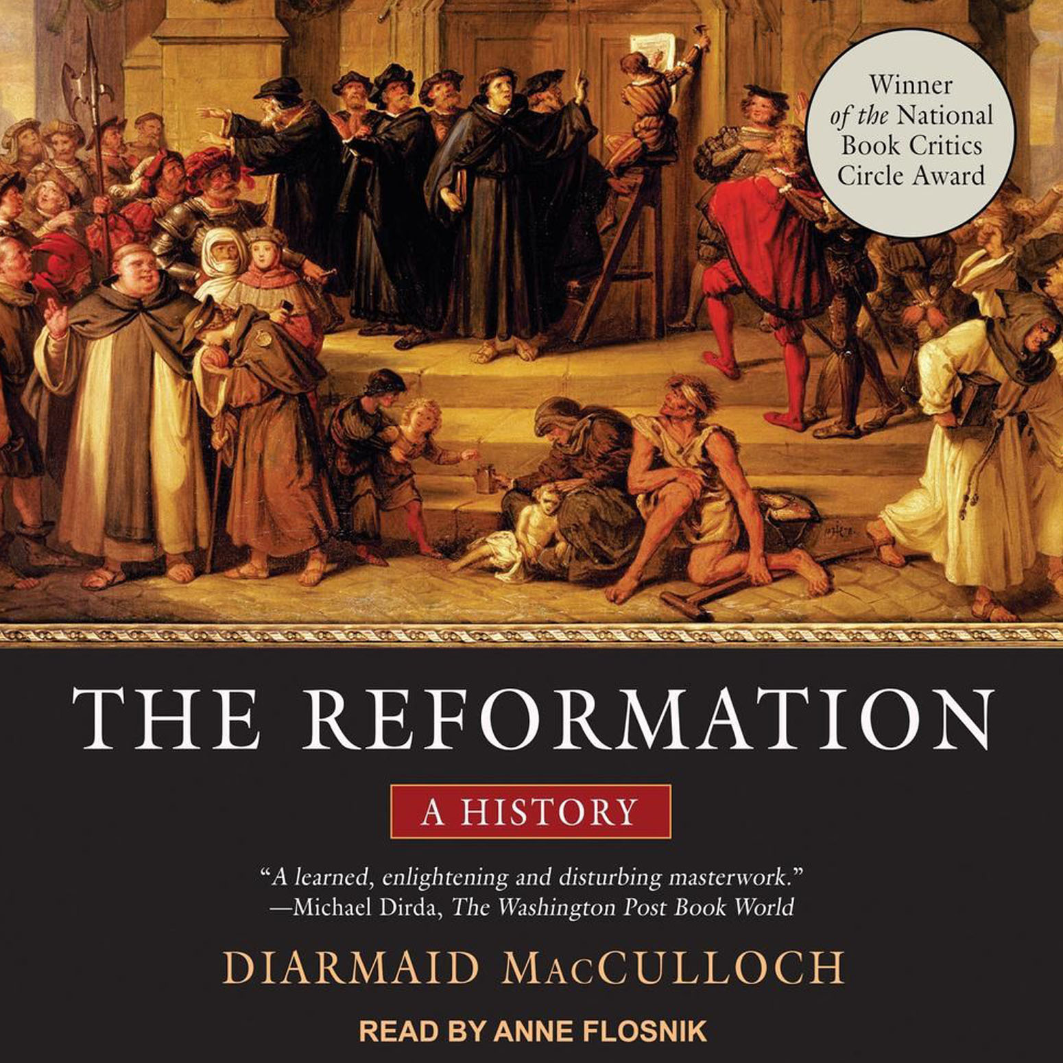 Printable The Reformation: A History Audiobook Cover Art