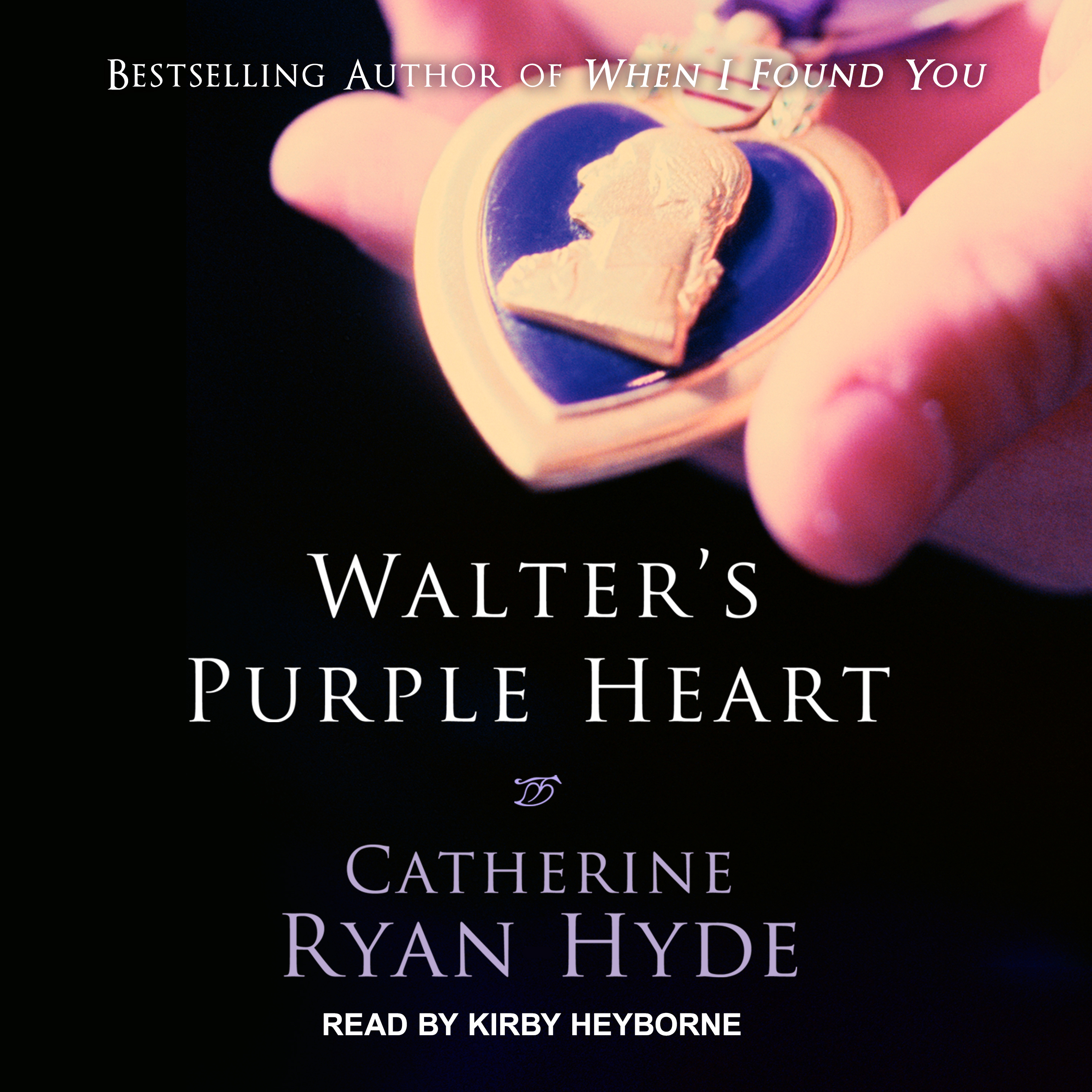 Printable Walter's Purple Heart Audiobook Cover Art