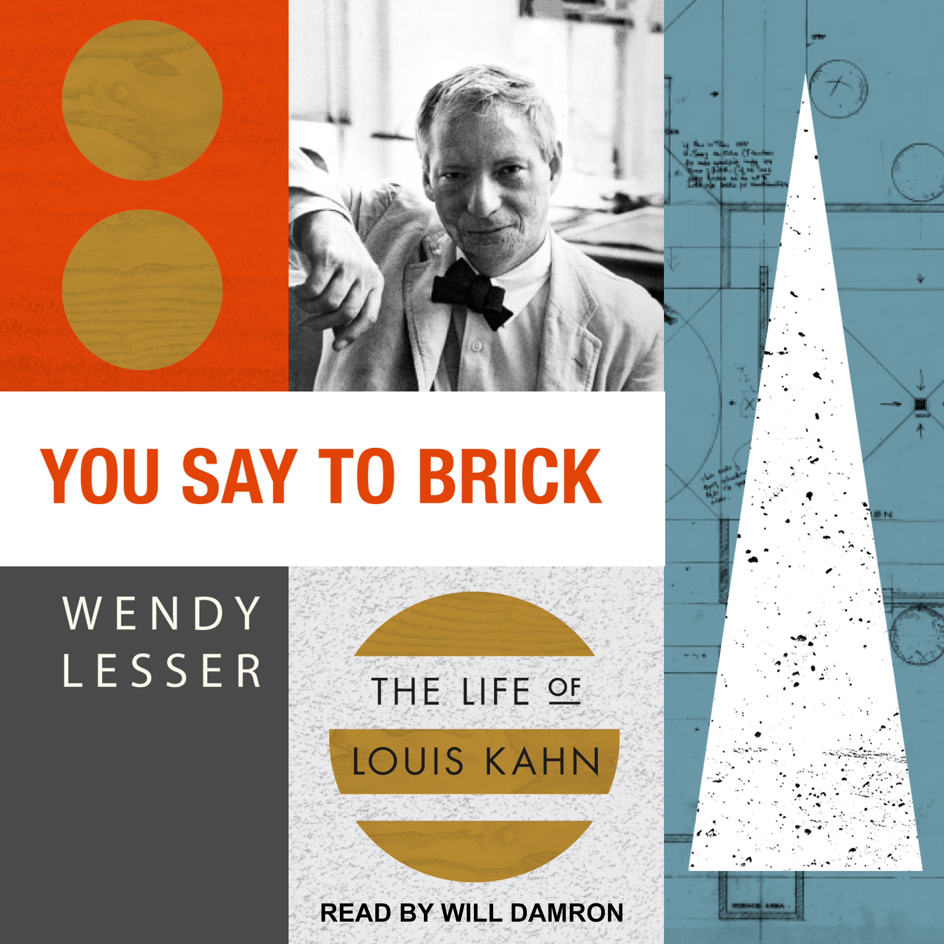 Printable You Say to Brick: The Life of Louis Kahn Audiobook Cover Art