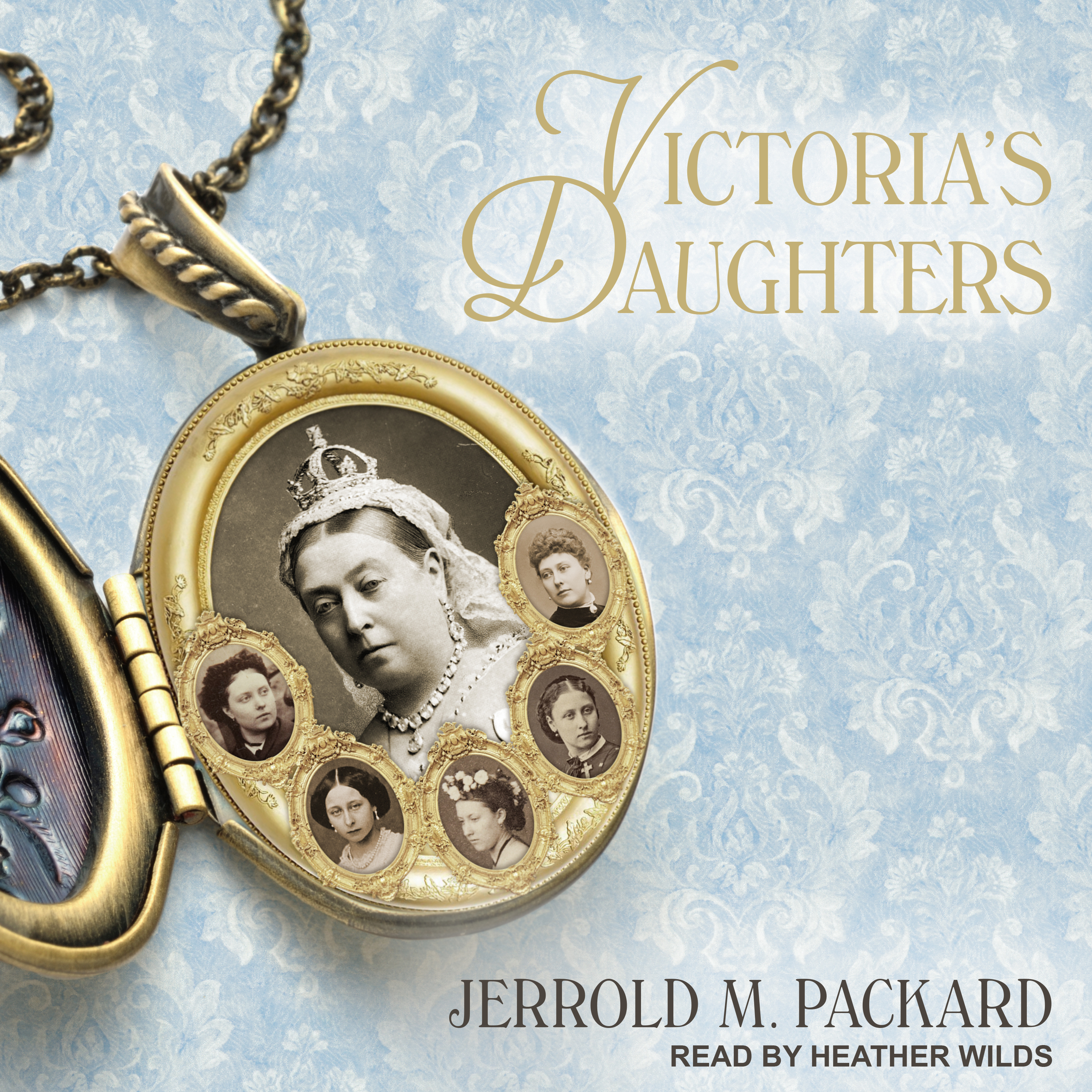 Printable Victoria's Daughters Audiobook Cover Art