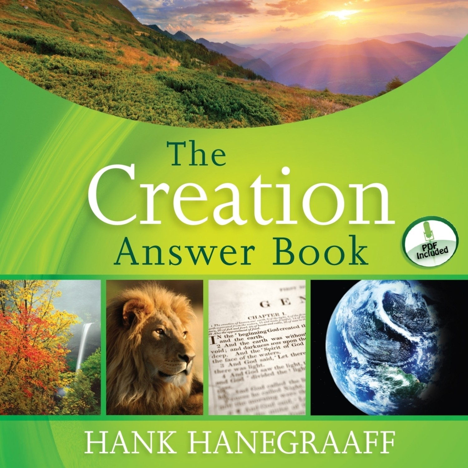 Printable The Creation Answer Book Audiobook Cover Art