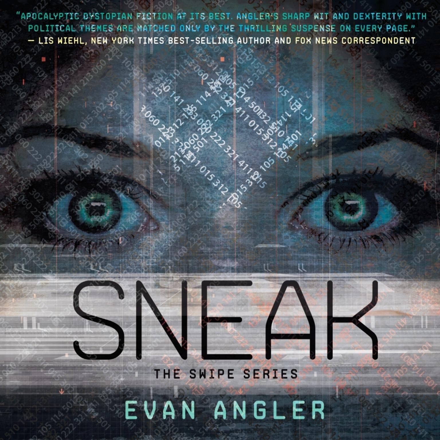 Printable Sneak Audiobook Cover Art