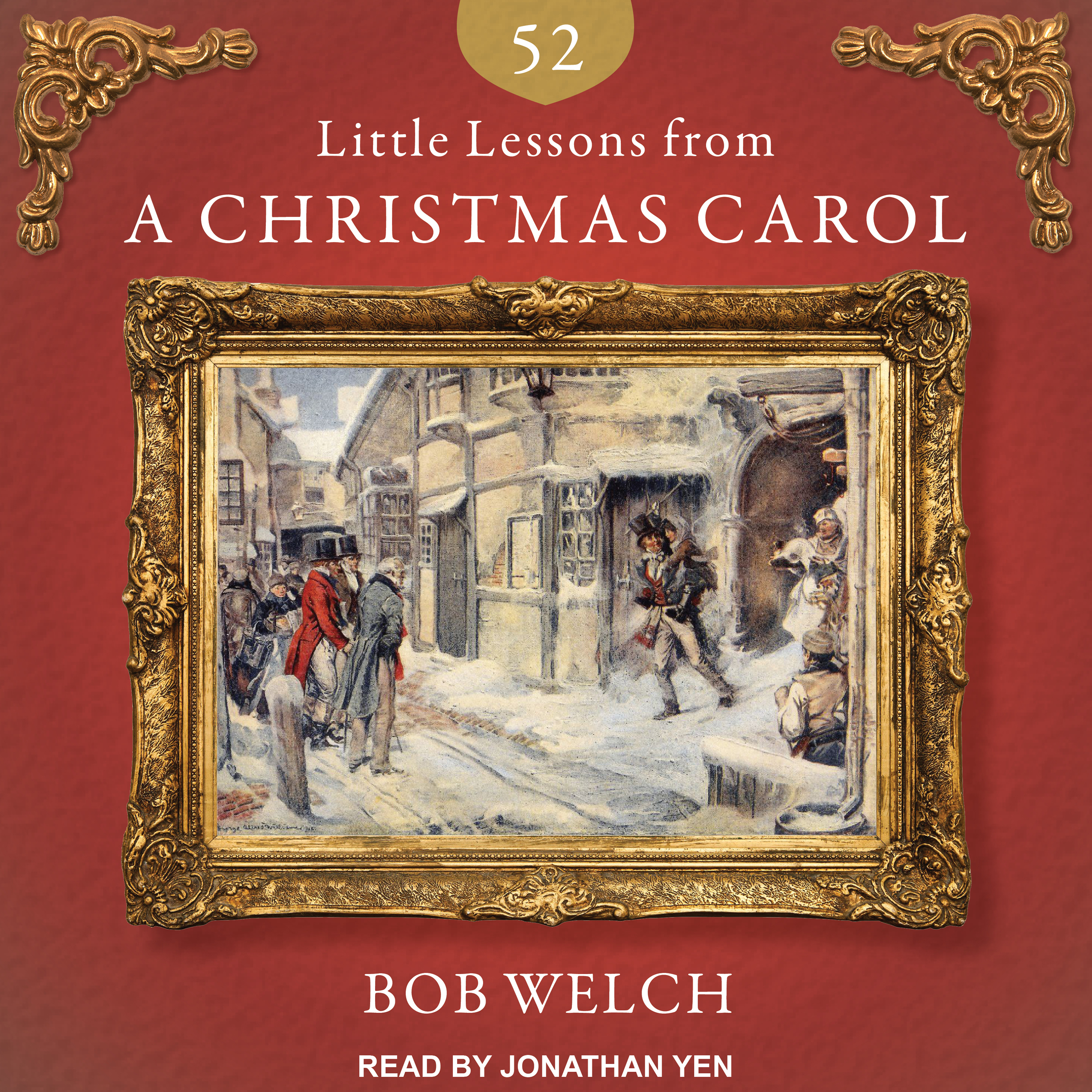 Printable 52 Little Lessons from a Christmas Carol Audiobook Cover Art