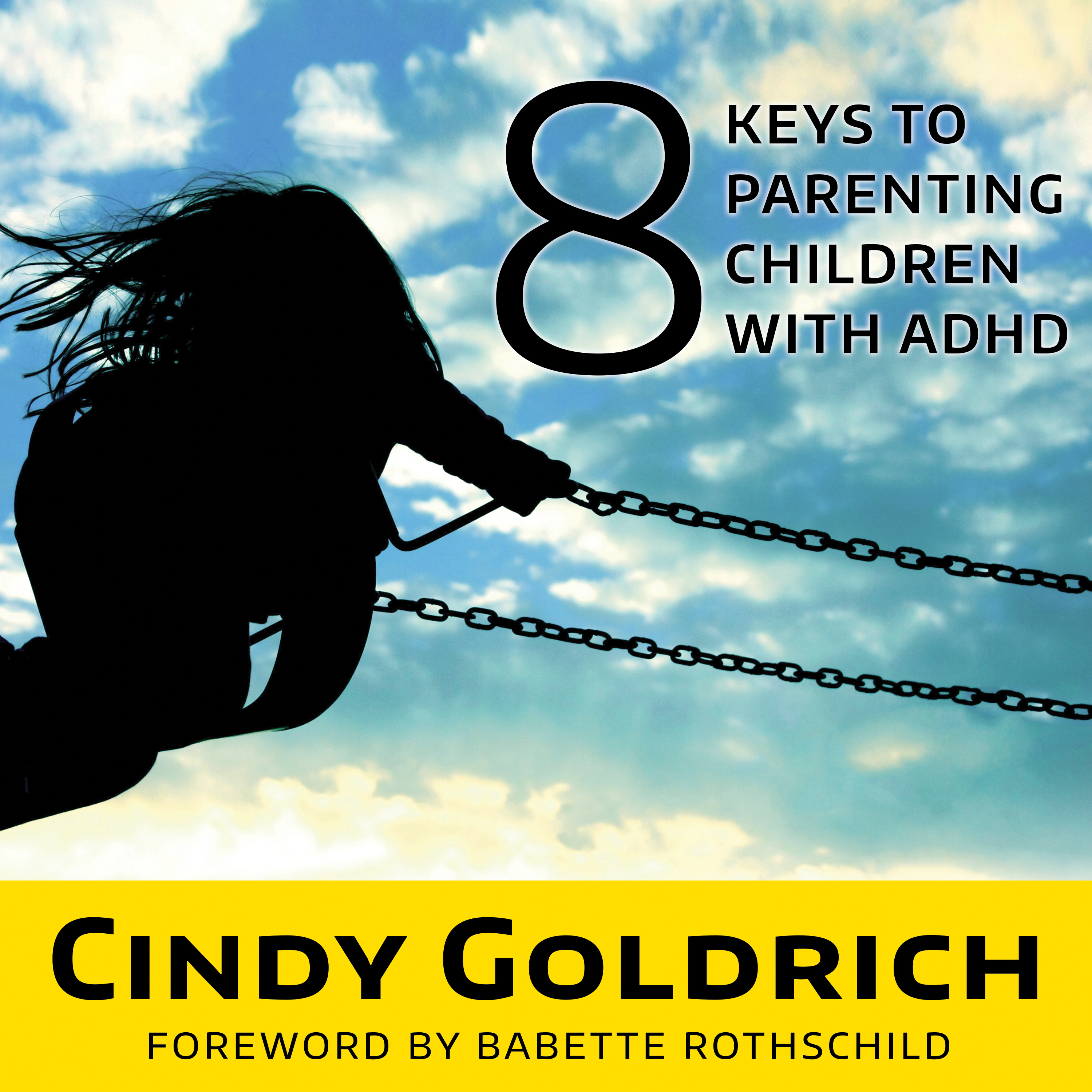 Printable 8 Keys to Parenting Children With ADHD Audiobook Cover Art