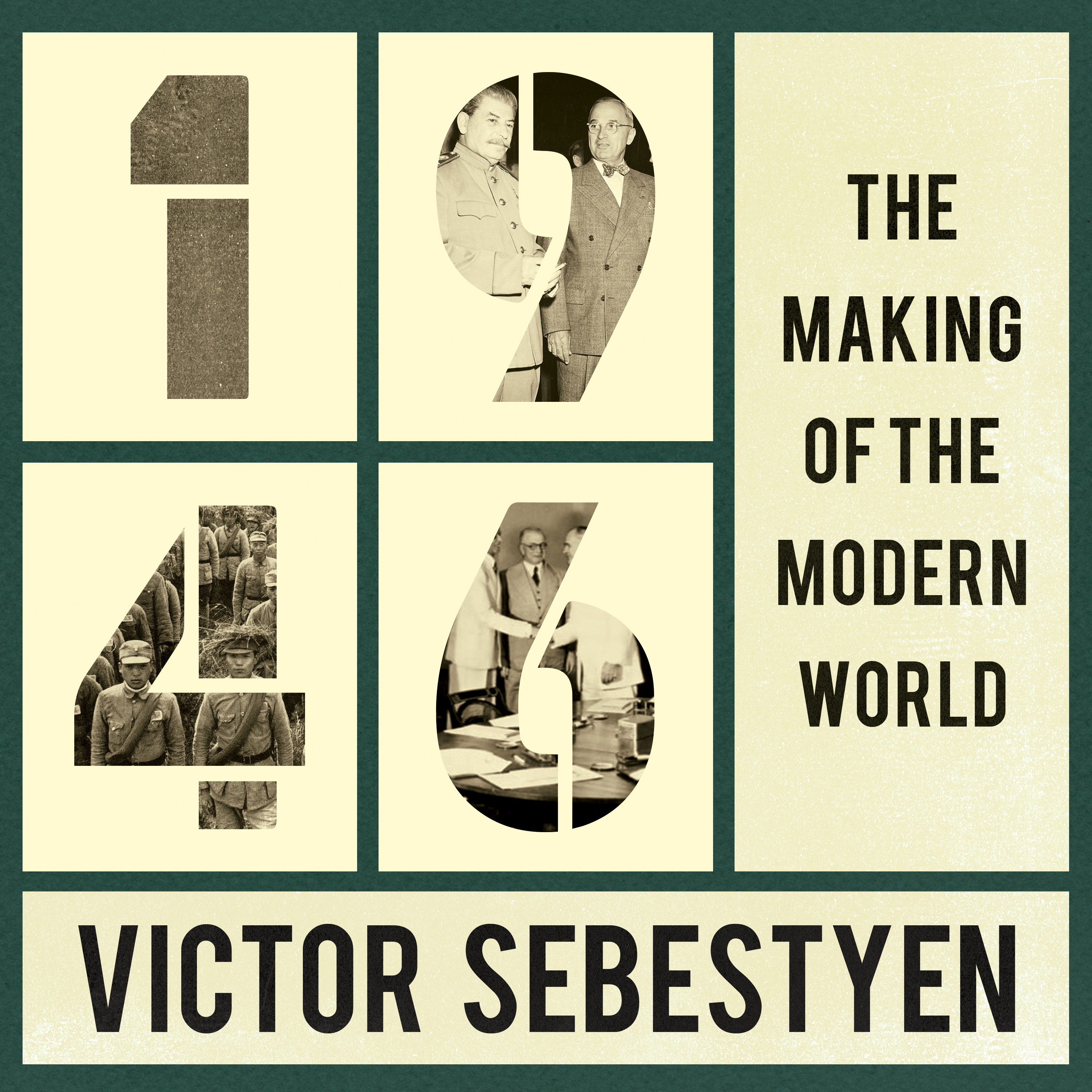 Printable 1946: The Making of the Modern World Audiobook Cover Art