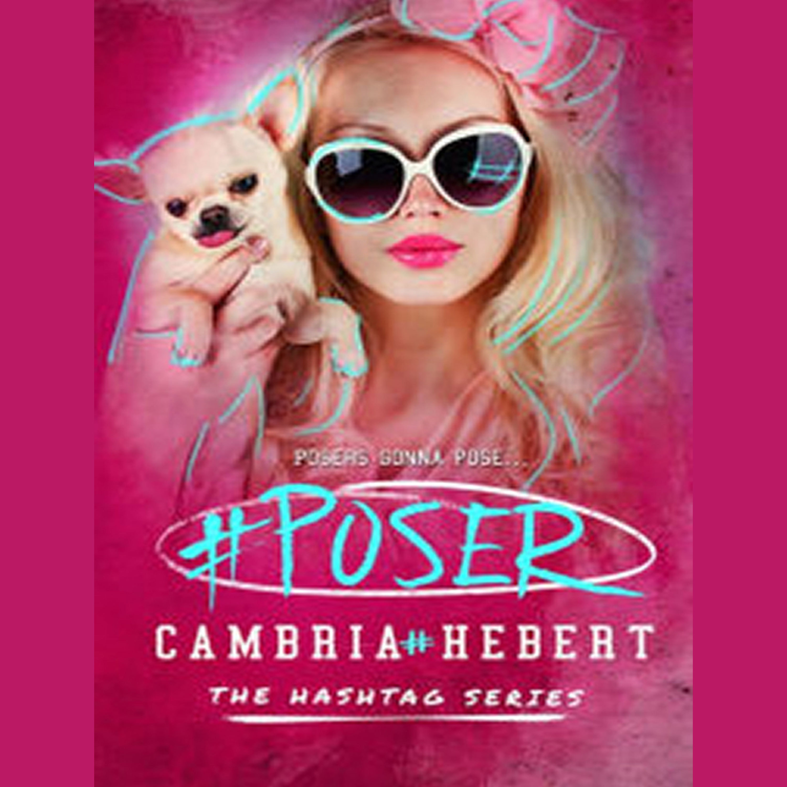 Printable #Poser Audiobook Cover Art