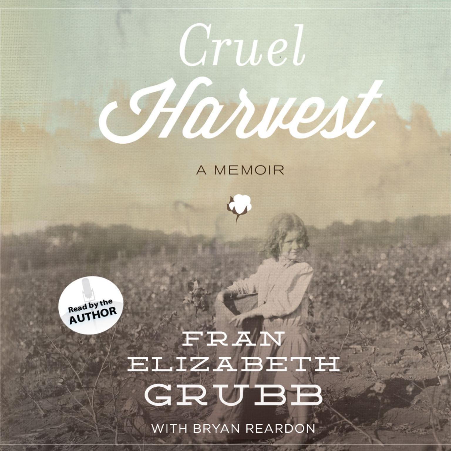 Printable Cruel Harvest: A Memoir Audiobook Cover Art