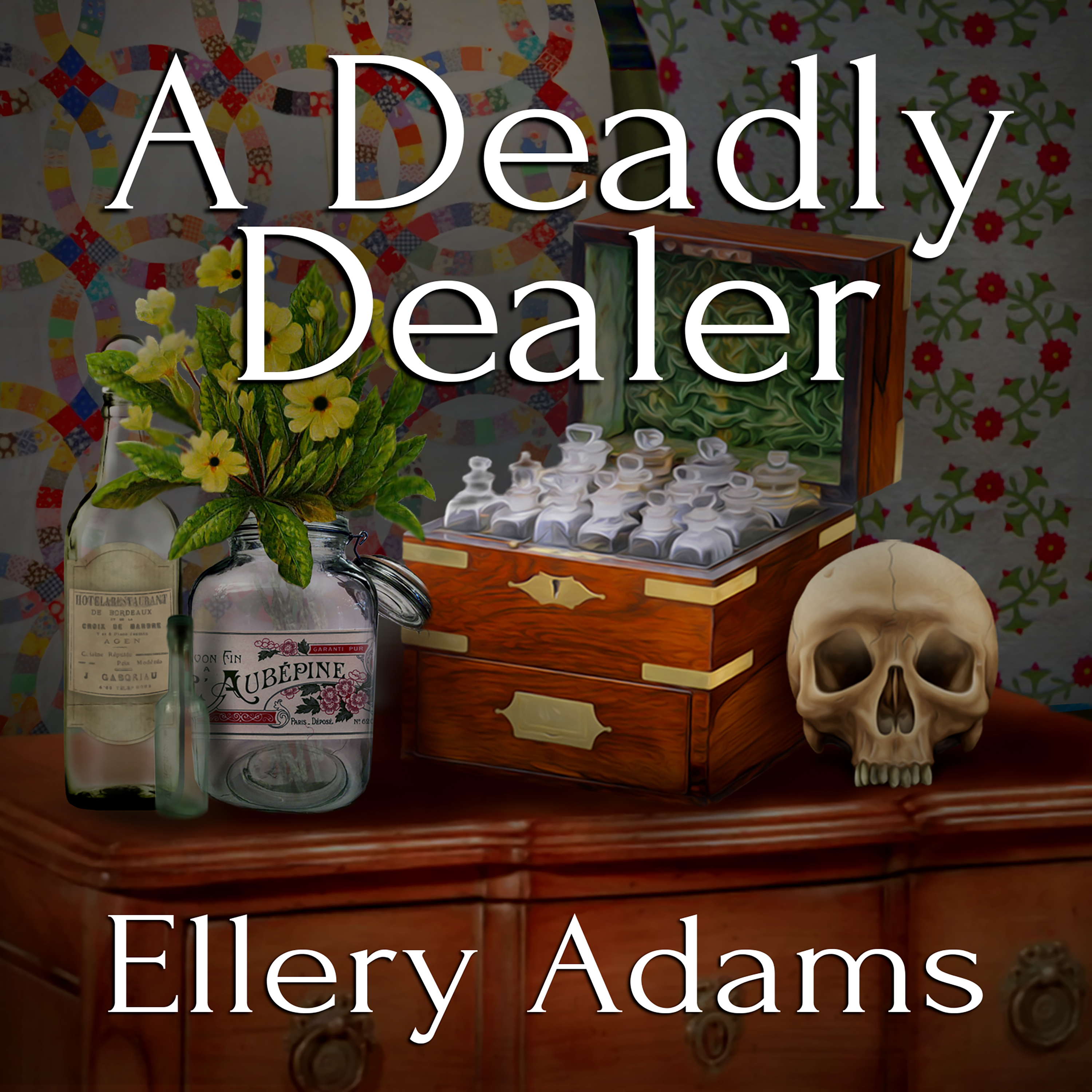 Printable A Deadly Dealer Audiobook Cover Art