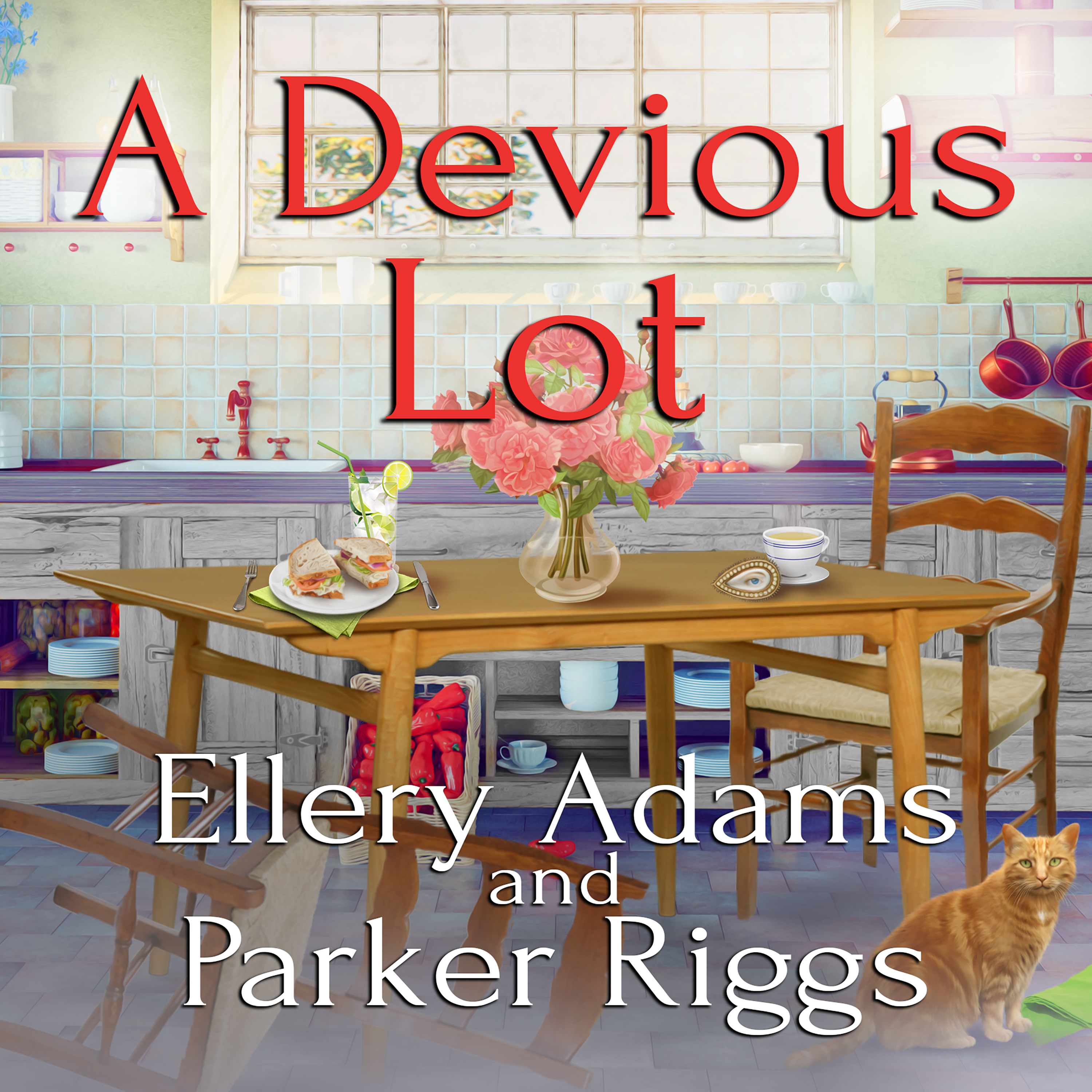 Printable A Devious Lot Audiobook Cover Art