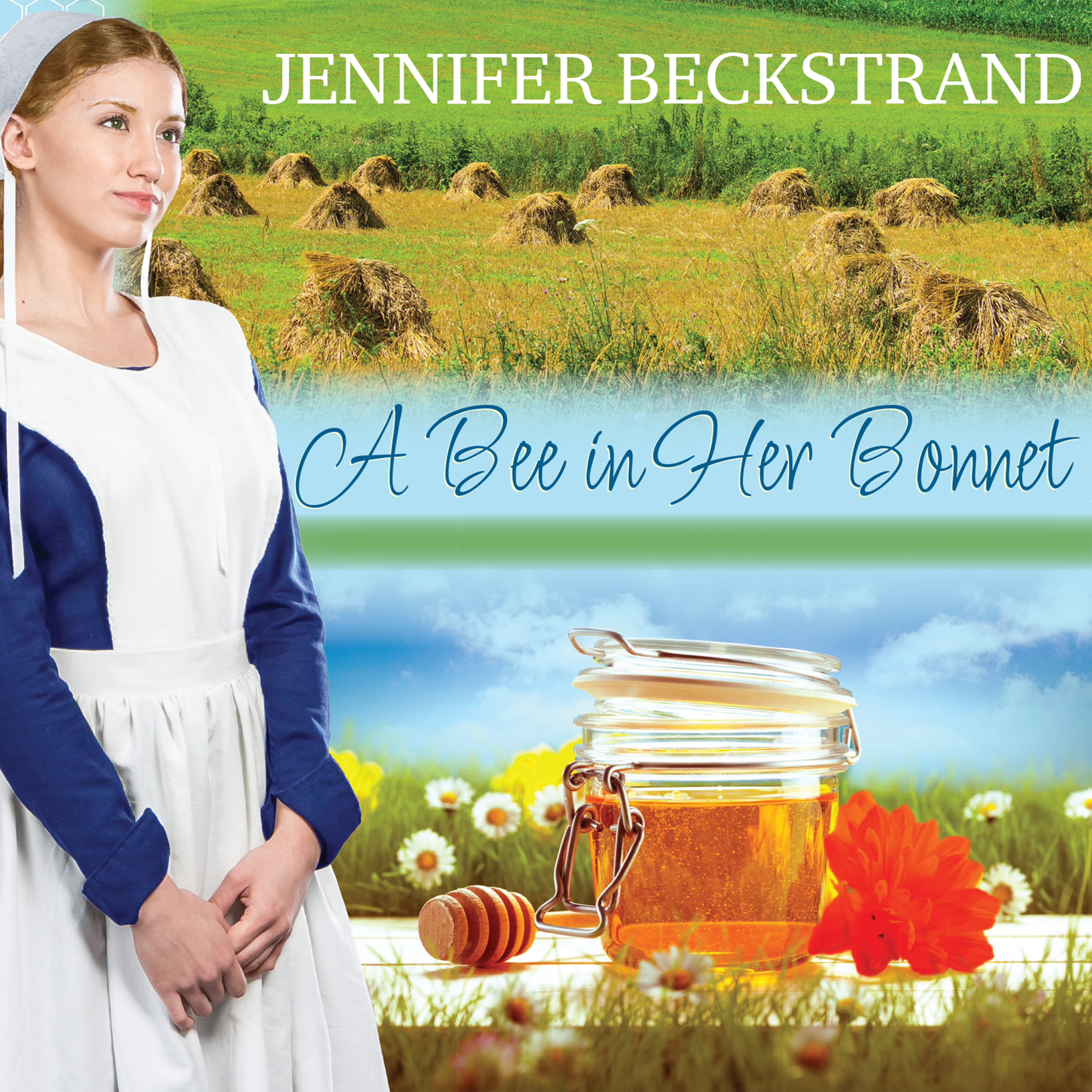 Printable A Bee In Her Bonnet Audiobook Cover Art