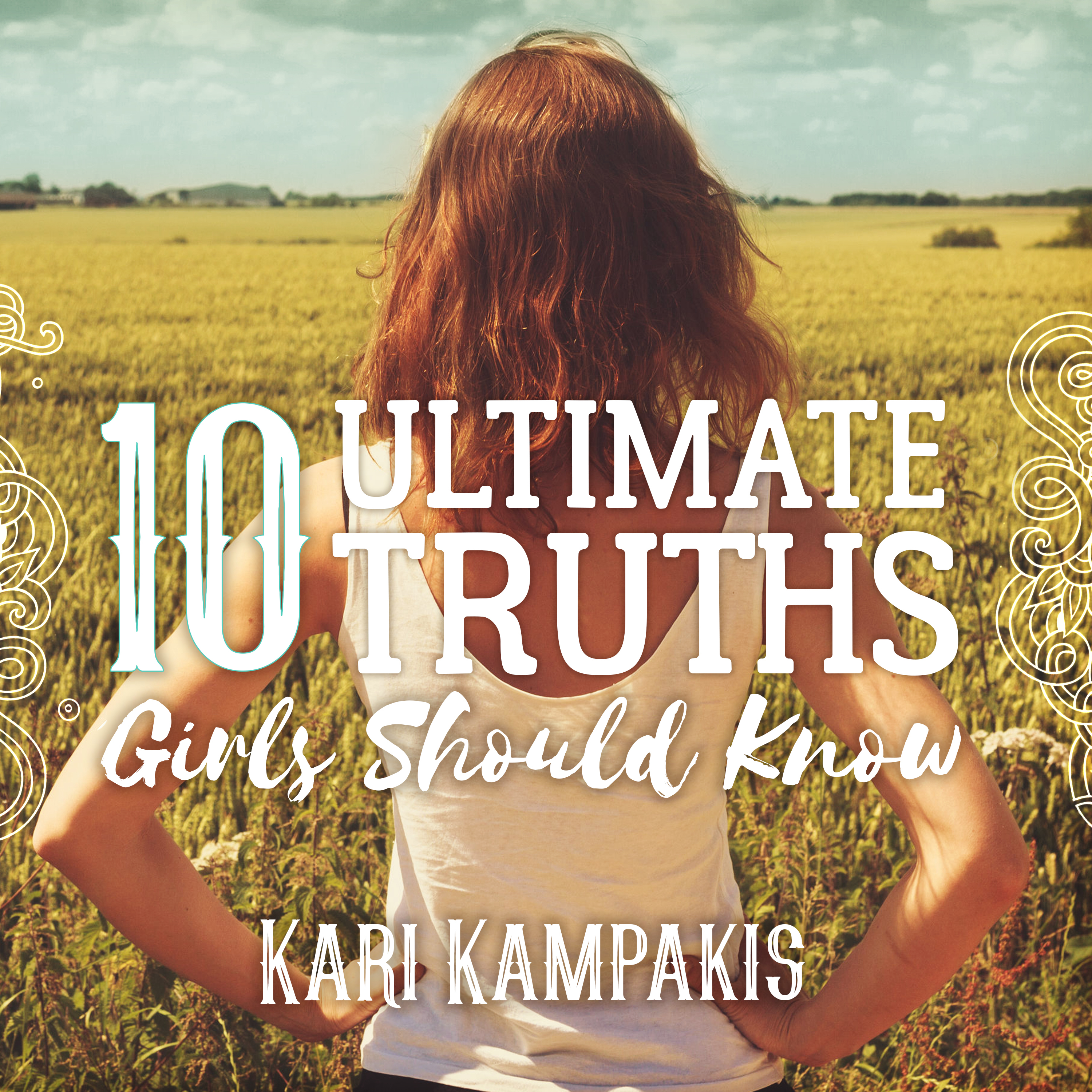 Printable 10 Ultimate Truths Girls Should Know Audiobook Cover Art