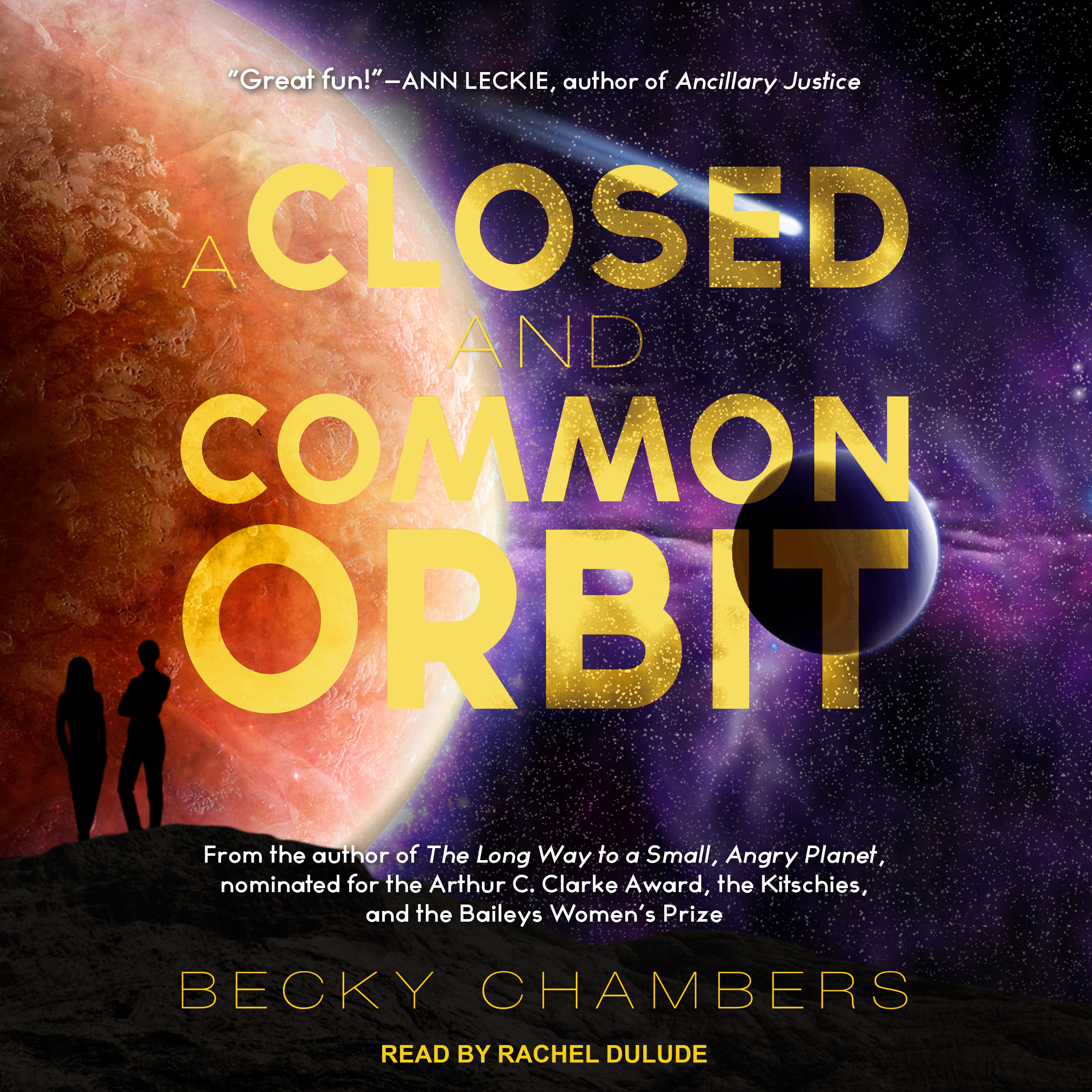 Printable A Closed and Common Orbit Audiobook Cover Art