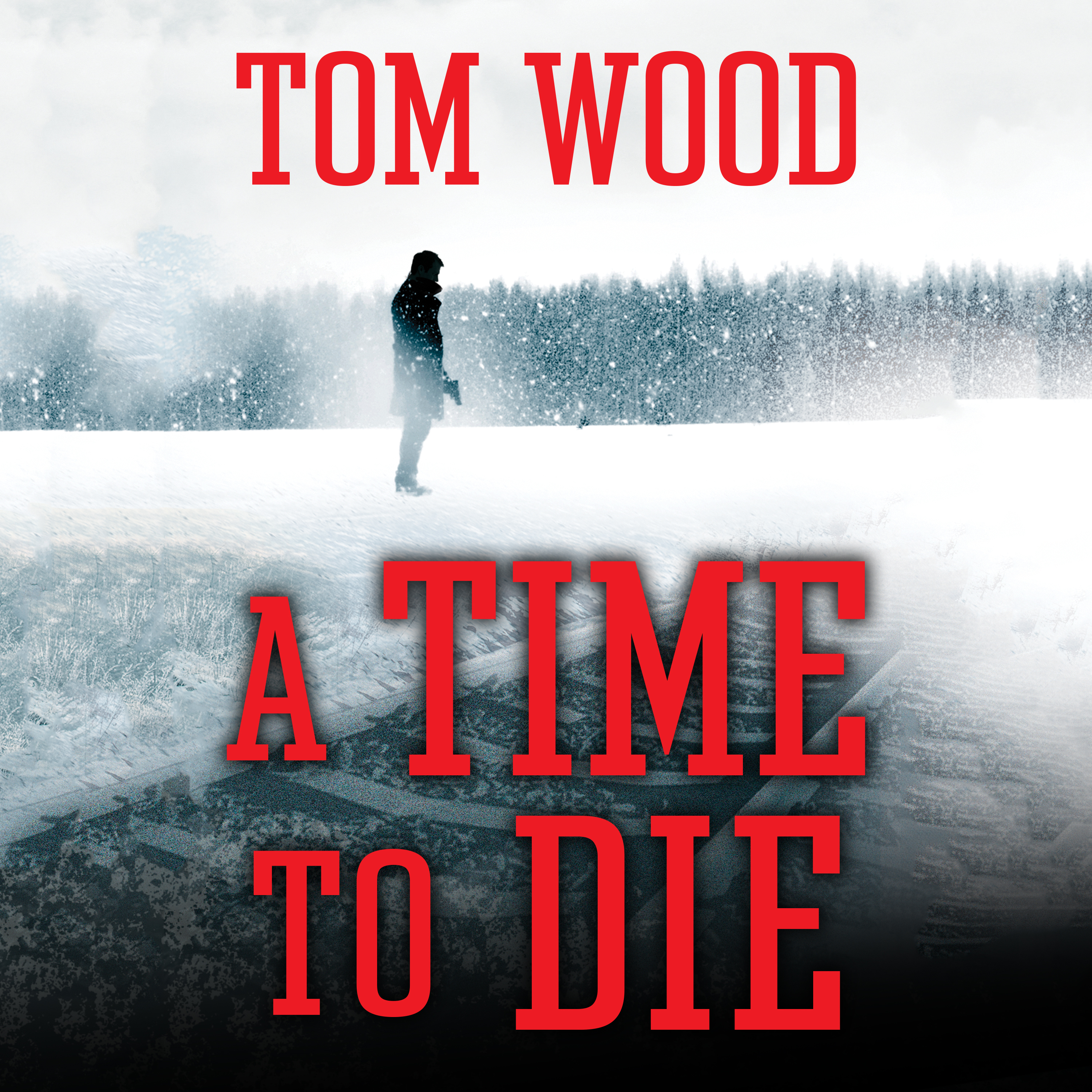 Printable A Time to Die Audiobook Cover Art