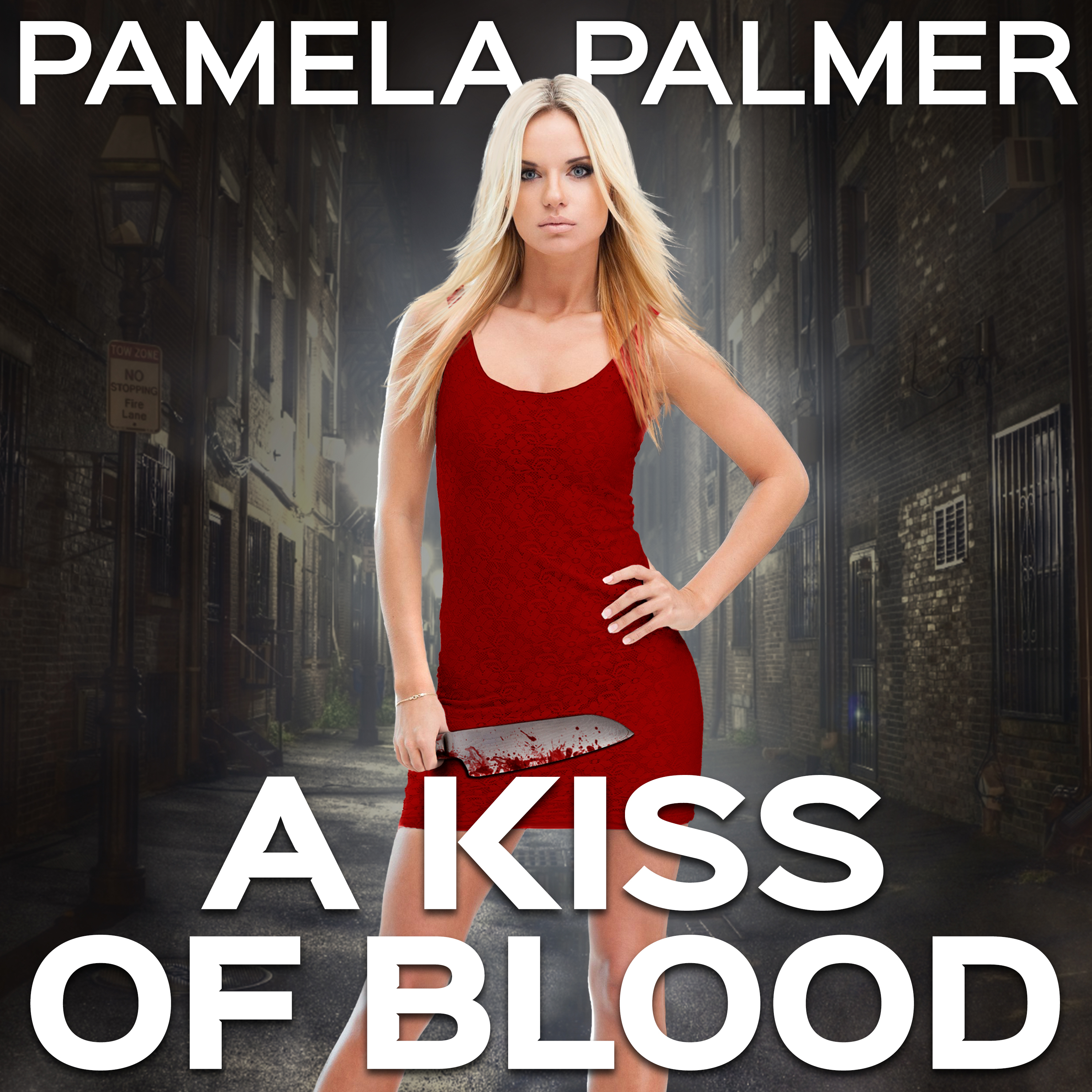 Printable A Kiss of Blood Audiobook Cover Art