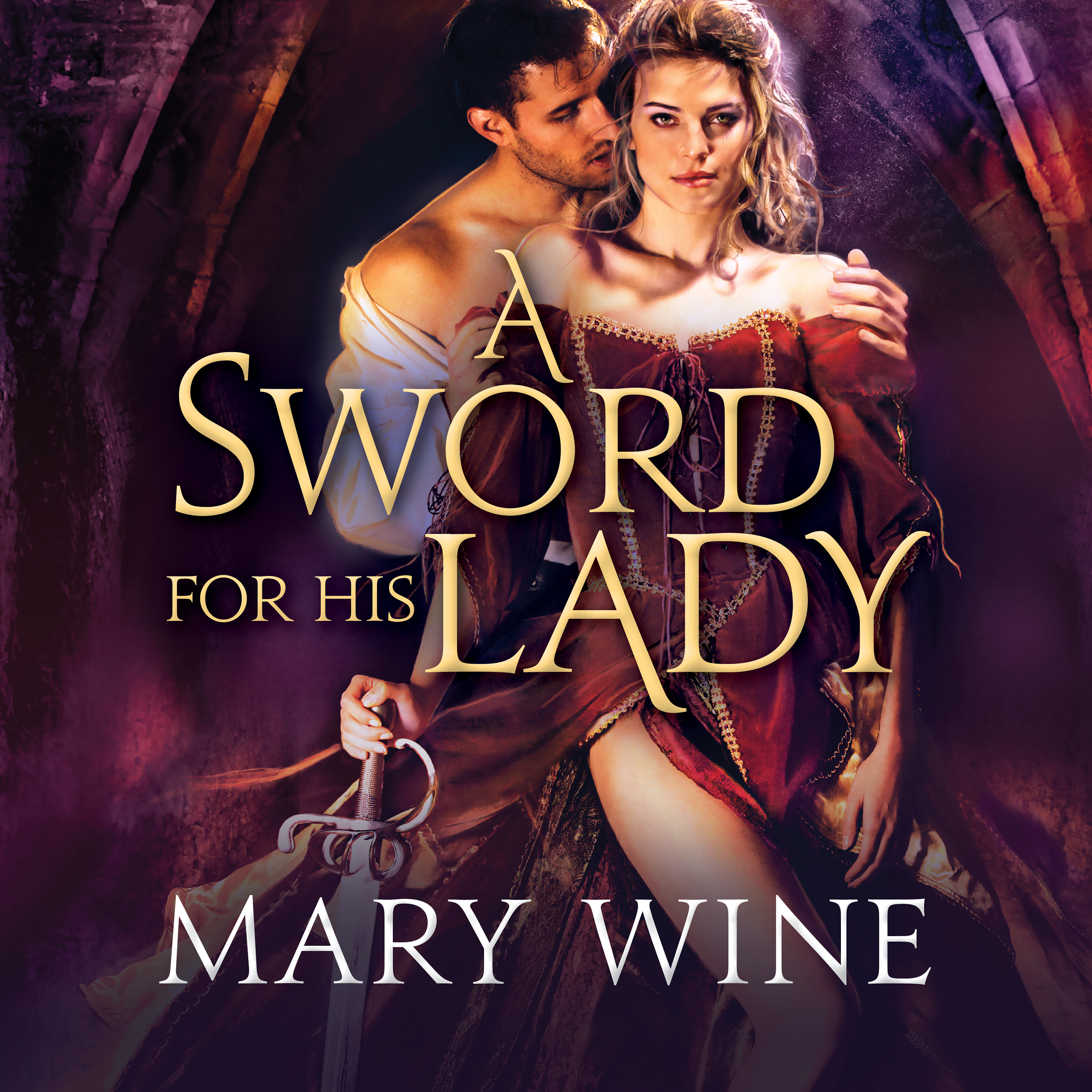 Printable A Sword for His Lady Audiobook Cover Art