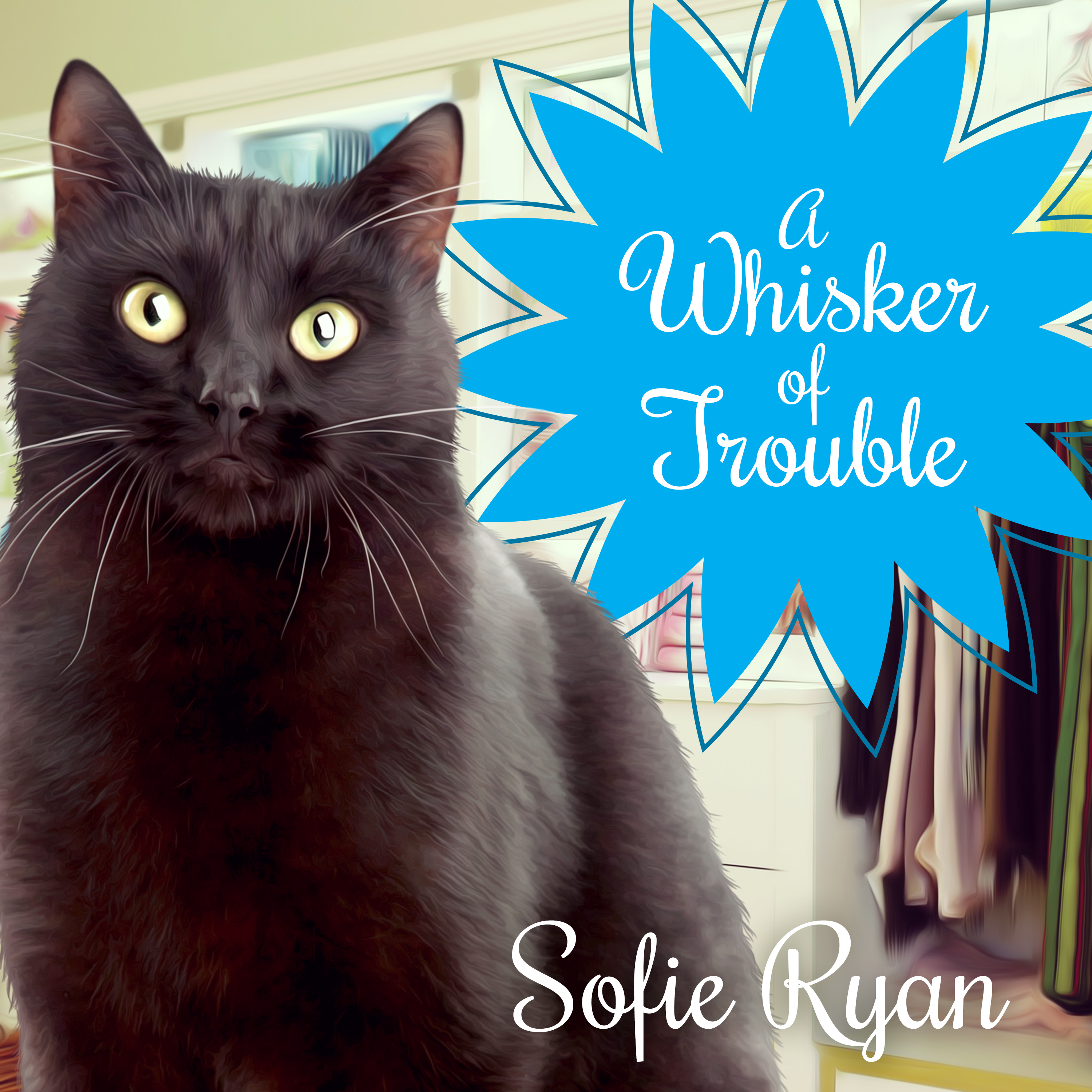 Printable A Whisker of Trouble Audiobook Cover Art