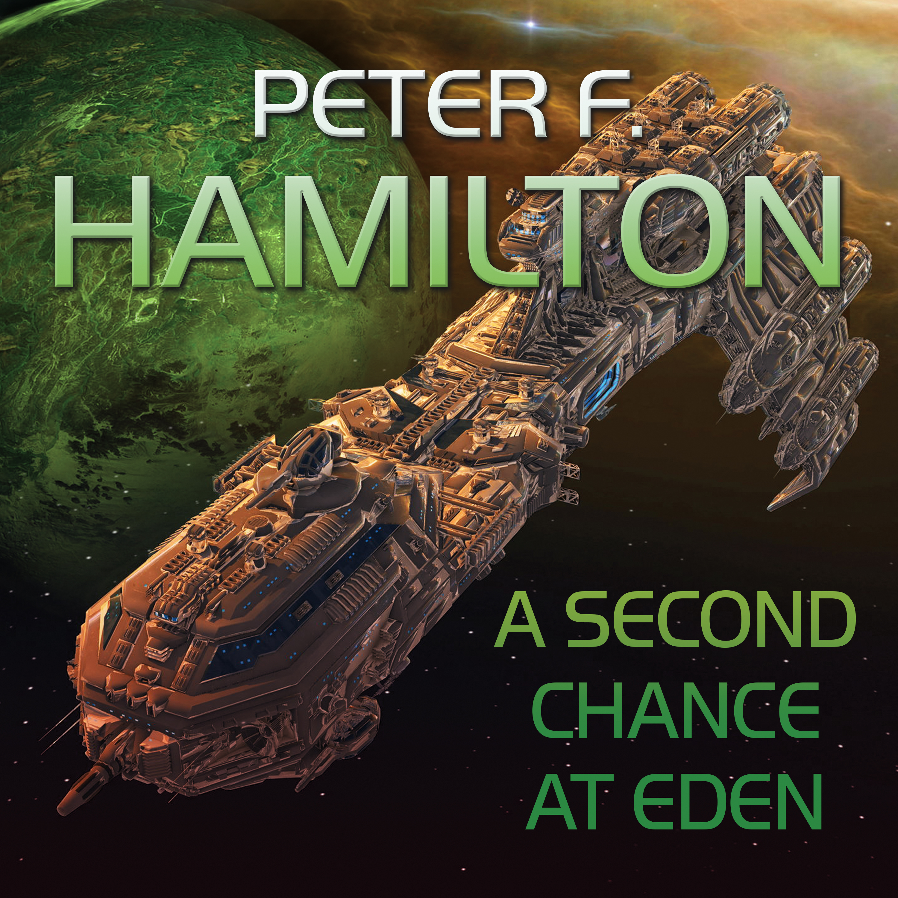Printable A Second Chance At Eden Audiobook Cover Art