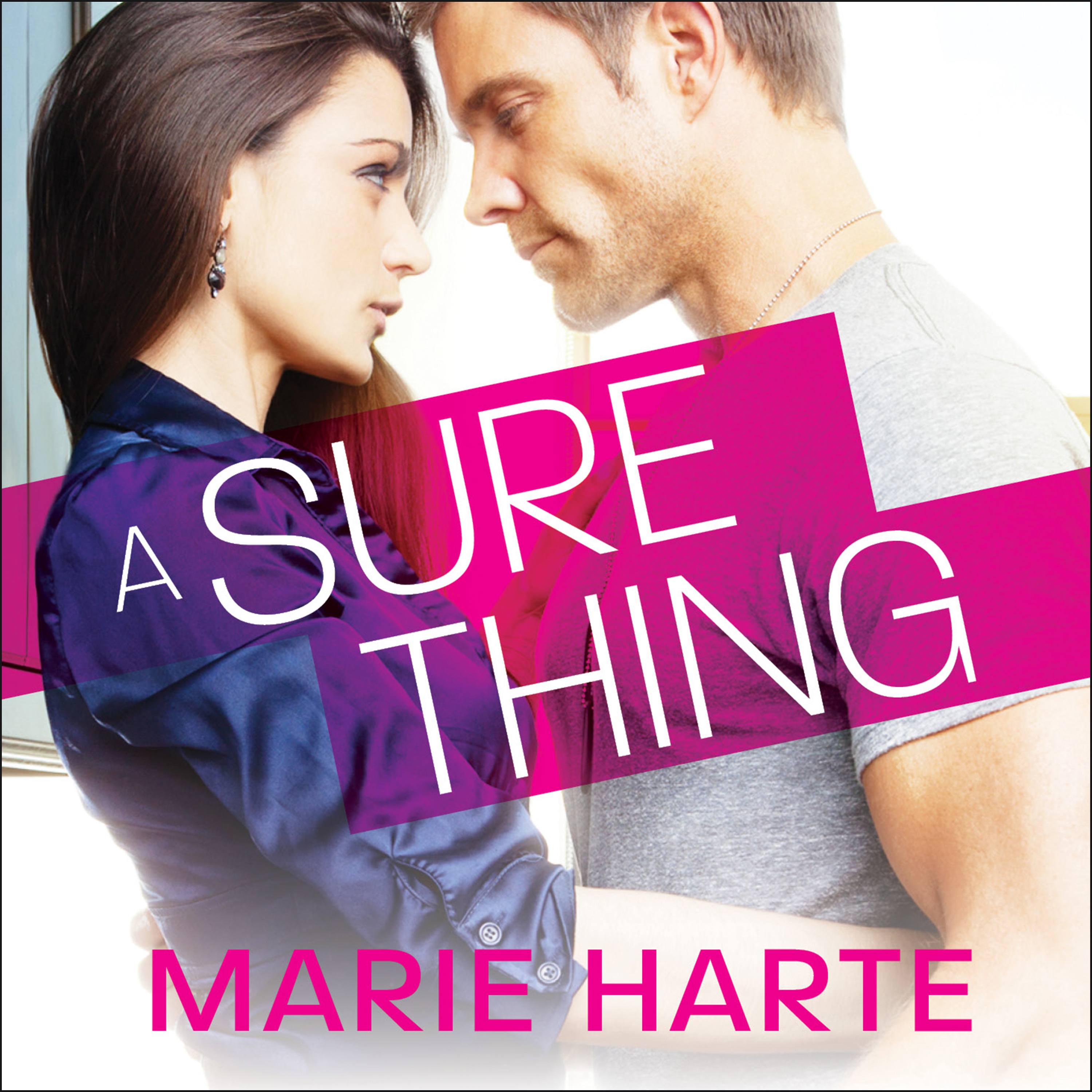 Printable A Sure Thing Audiobook Cover Art