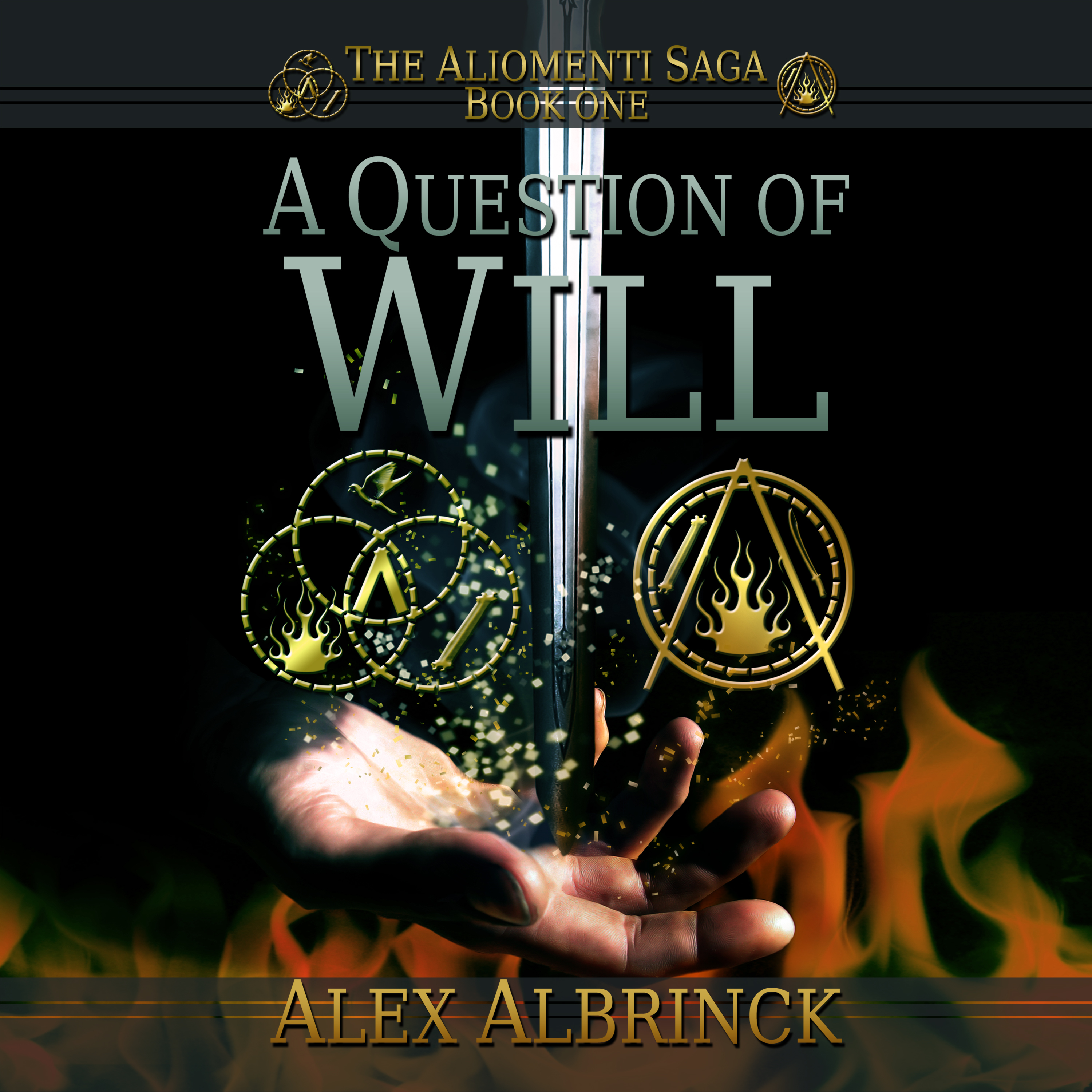 Printable A Question of Will Audiobook Cover Art